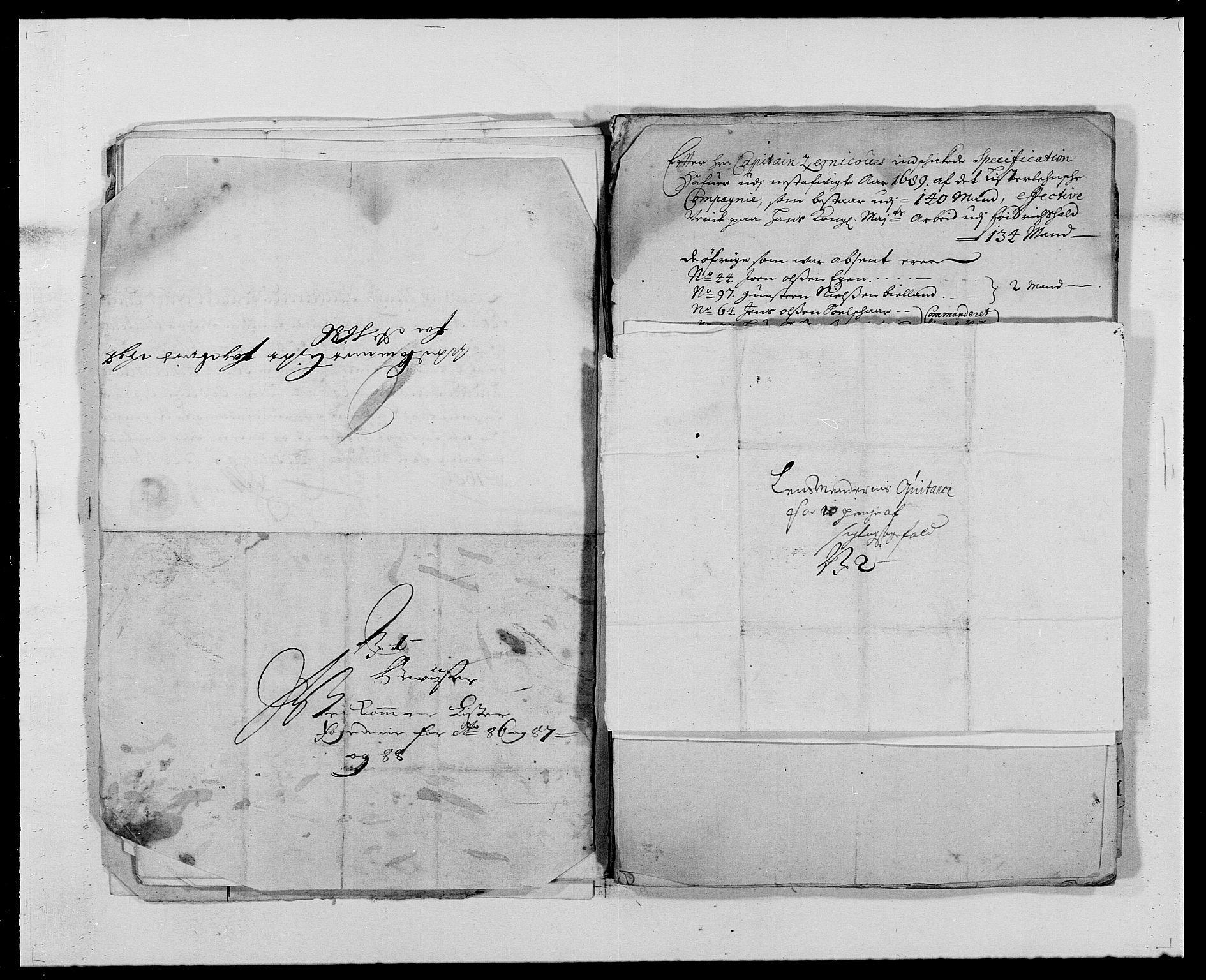 RA, Rentekammeret inntil 1814, Reviderte regnskaper, Fogderegnskap, R41/L2535: Fogderegnskap Lista, 1686-1689, s. 47