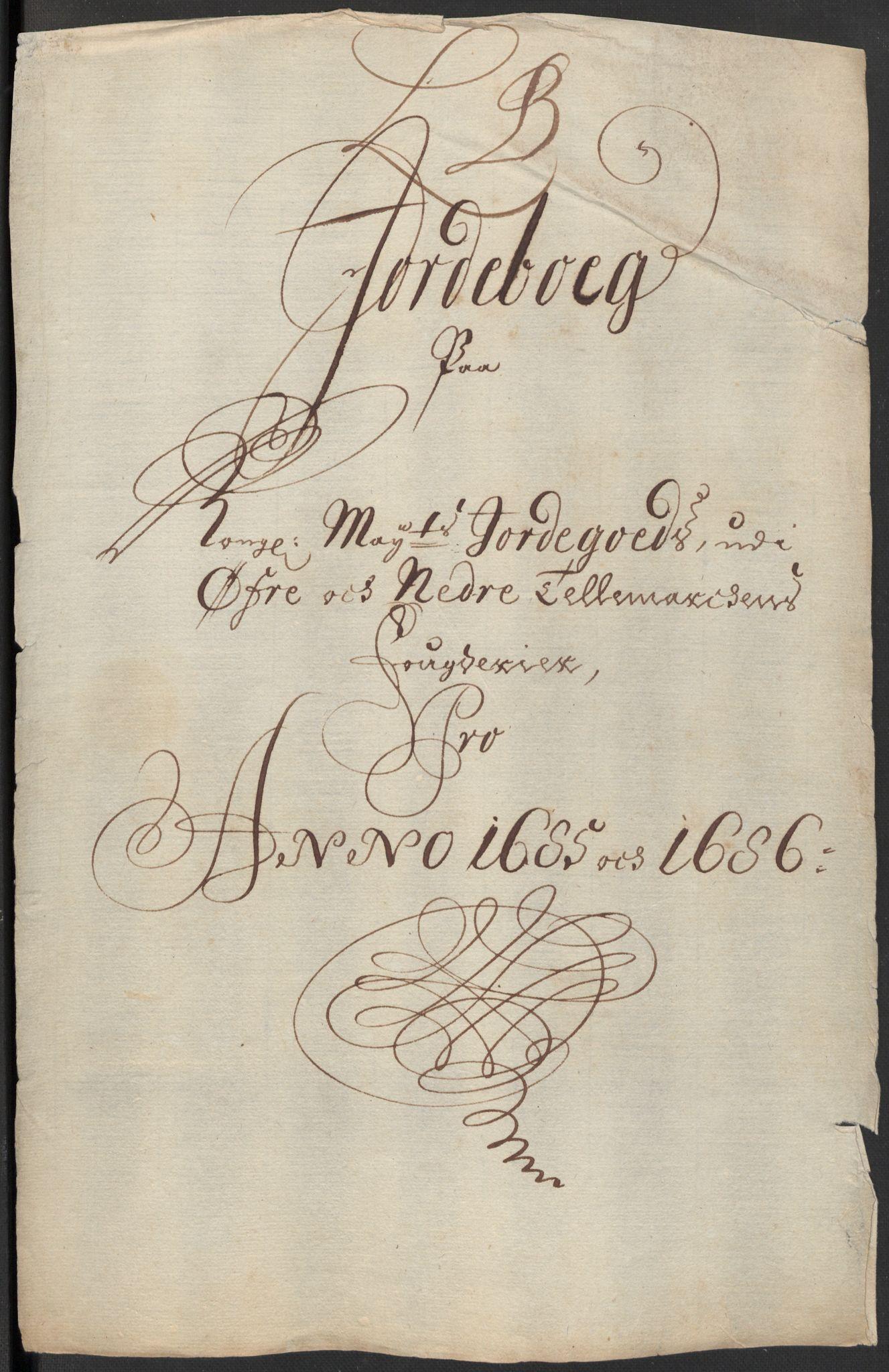 RA, Rentekammeret inntil 1814, Reviderte regnskaper, Fogderegnskap, R35/L2083: Fogderegnskap Øvre og Nedre Telemark, 1686, s. 18