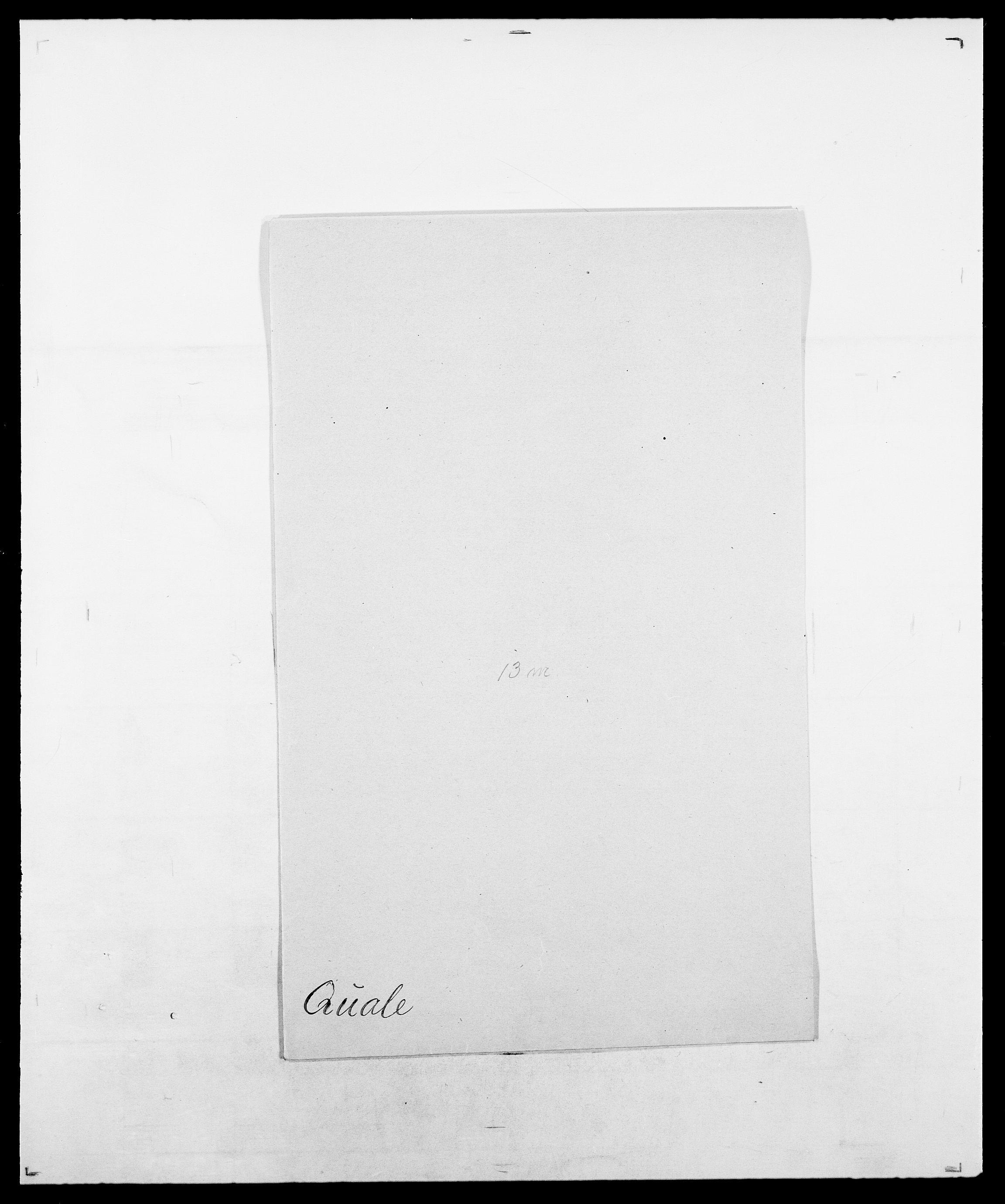 SAO, Delgobe, Charles Antoine - samling, D/Da/L0031: de Place - Raaum, s. 461