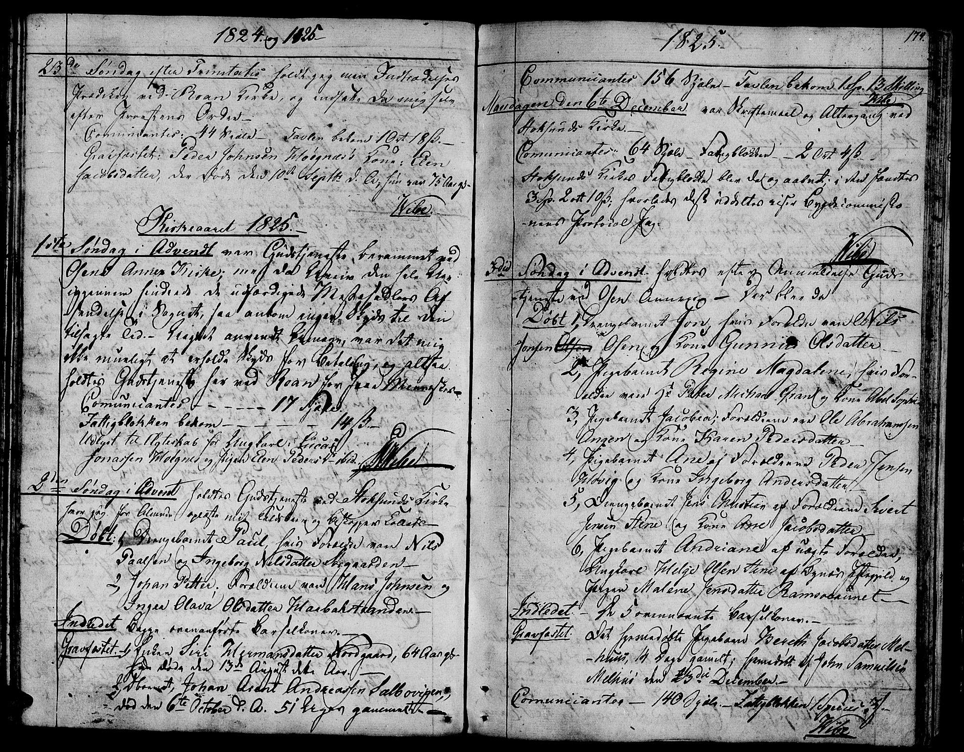 SAT, Ministerialprotokoller, klokkerbøker og fødselsregistre - Sør-Trøndelag, 657/L0701: Ministerialbok nr. 657A02, 1802-1831, s. 174