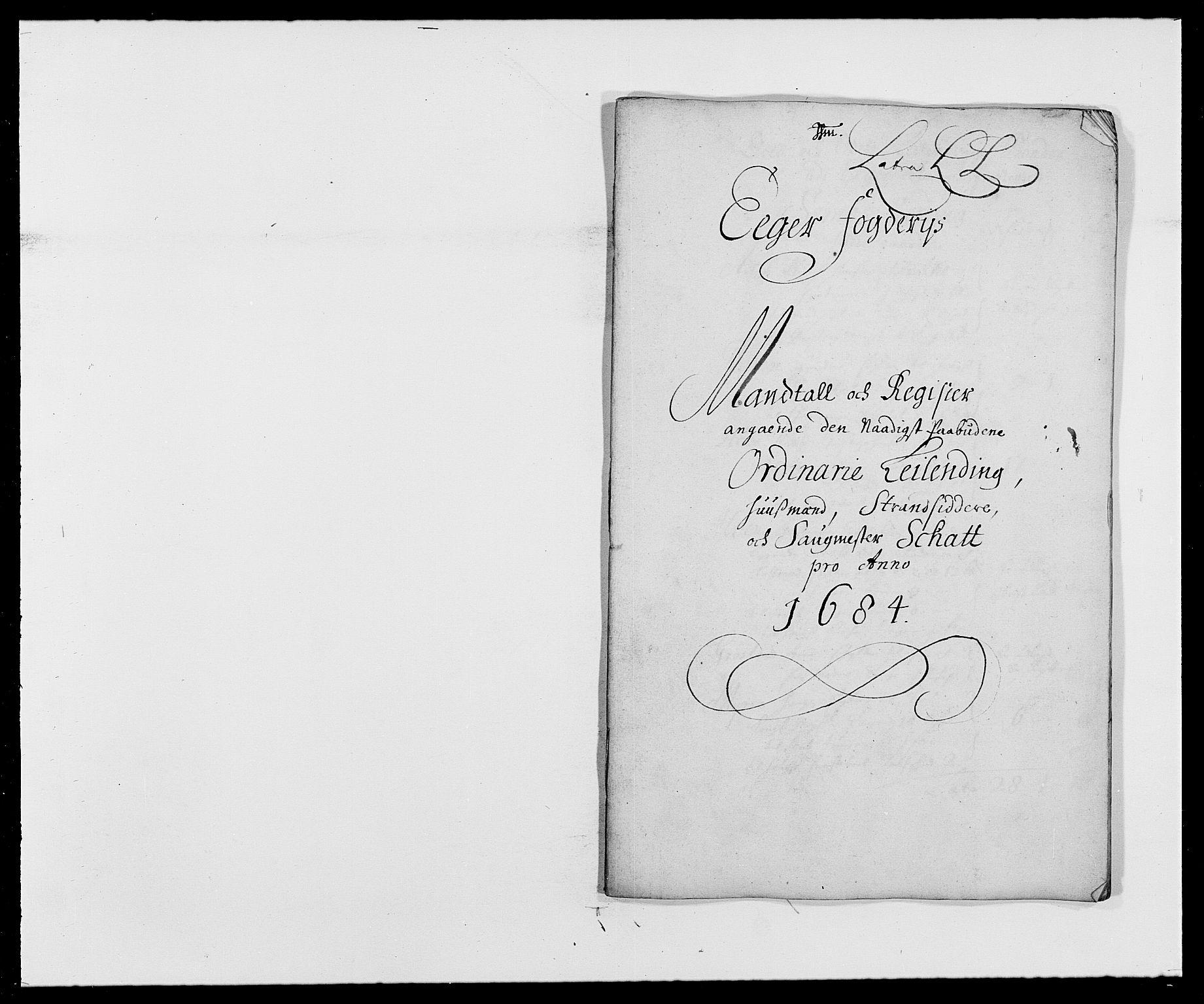 RA, Rentekammeret inntil 1814, Reviderte regnskaper, Fogderegnskap, R26/L1685: Fogderegnskap Eiker, 1679-1686, s. 10