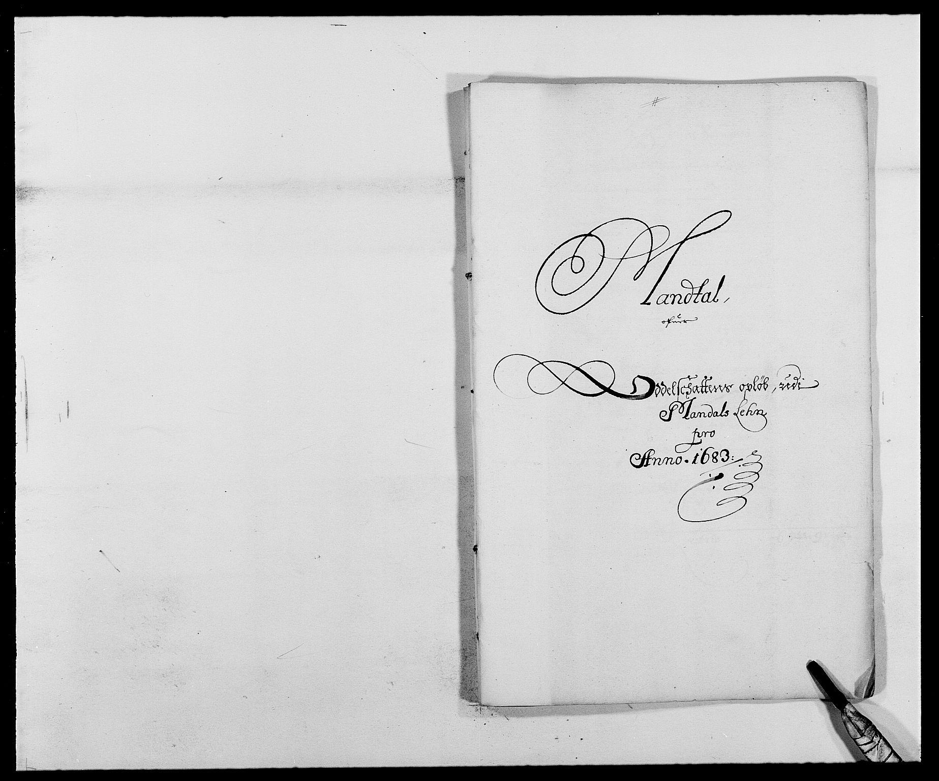 RA, Rentekammeret inntil 1814, Reviderte regnskaper, Fogderegnskap, R42/L2541: Mandal fogderi, 1681-1684, s. 170