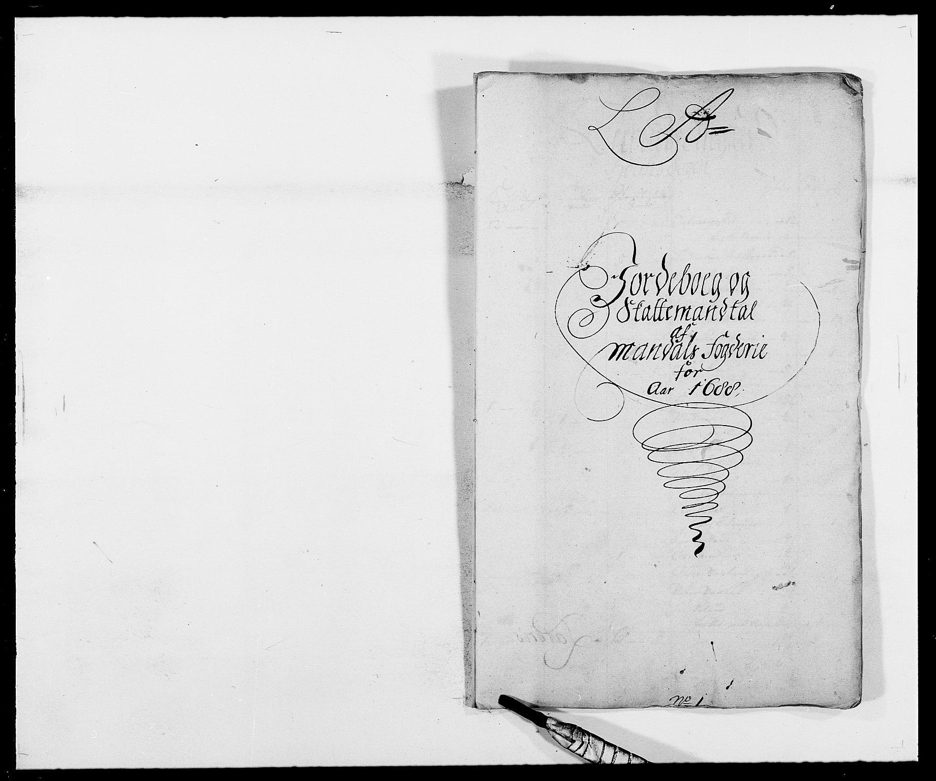 RA, Rentekammeret inntil 1814, Reviderte regnskaper, Fogderegnskap, R42/L2543: Mandal fogderi, 1688-1691, s. 19