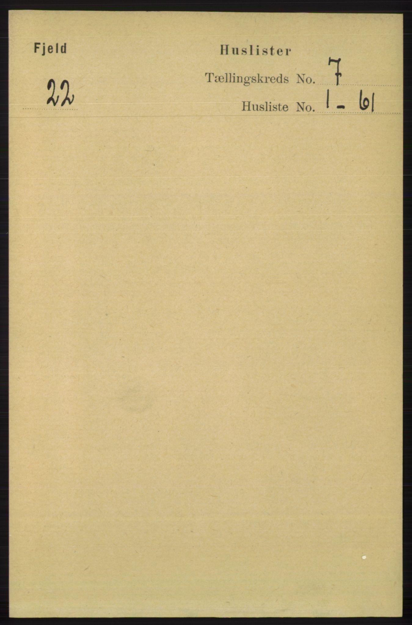 RA, Folketelling 1891 for 1246 Fjell herred, 1891, s. 3346