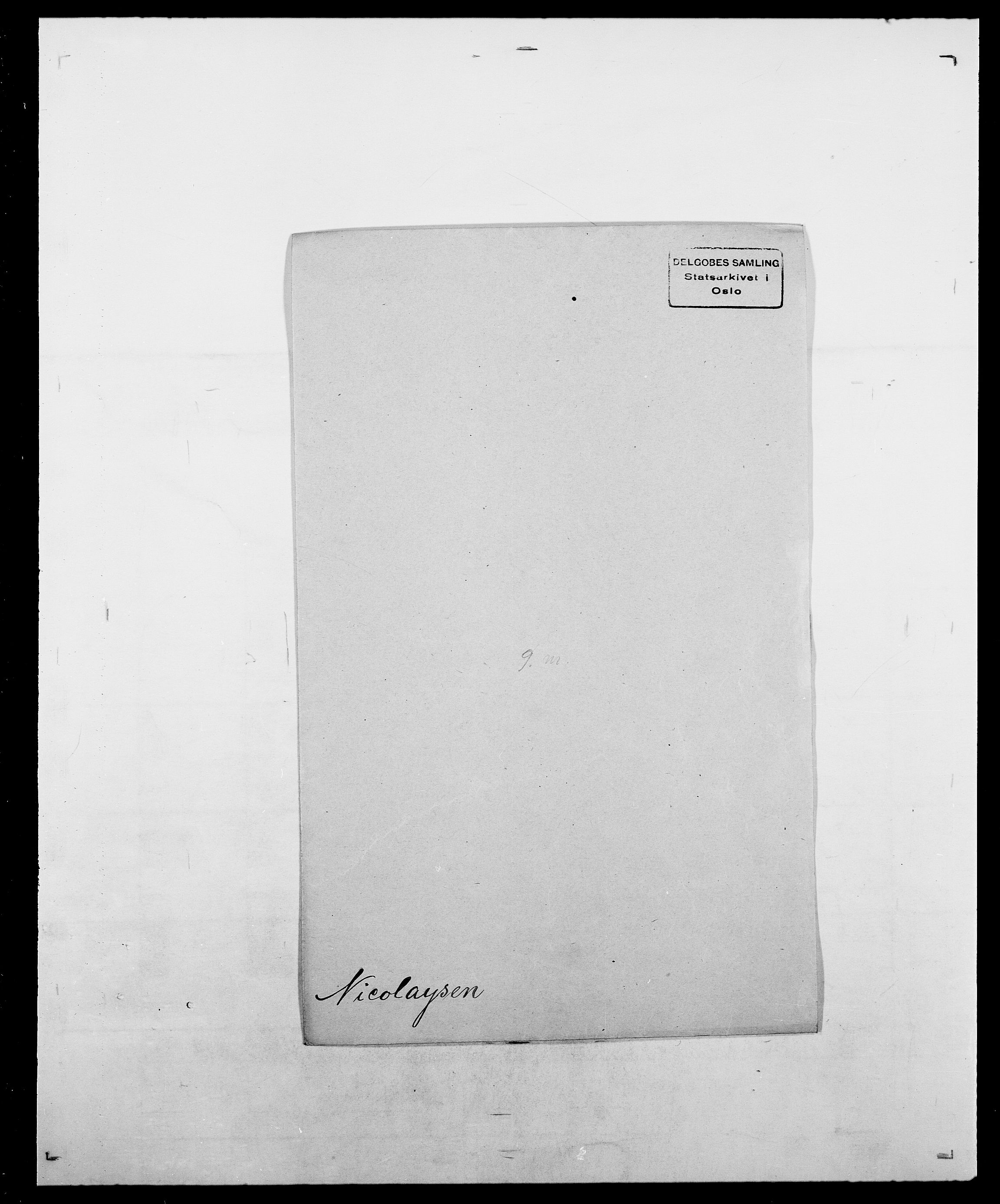 SAO, Delgobe, Charles Antoine - samling, D/Da/L0028: Naaden - Nøvik, s. 184