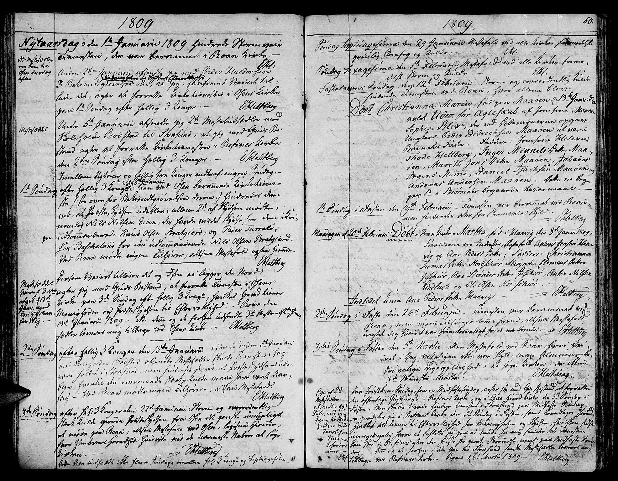 SAT, Ministerialprotokoller, klokkerbøker og fødselsregistre - Sør-Trøndelag, 657/L0701: Ministerialbok nr. 657A02, 1802-1831, s. 60
