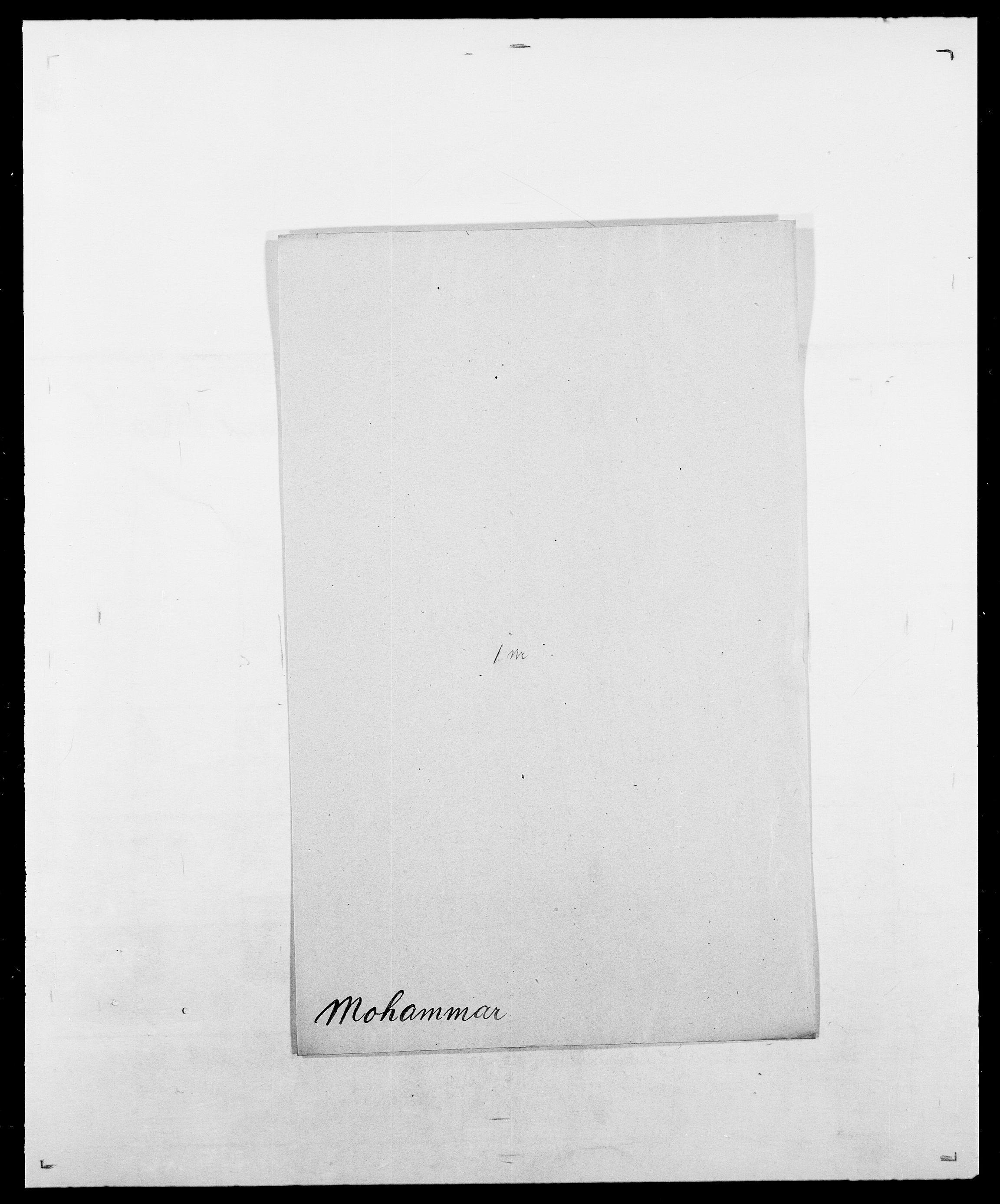 SAO, Delgobe, Charles Antoine - samling, D/Da/L0026: Mechelby - Montoppidan, s. 678