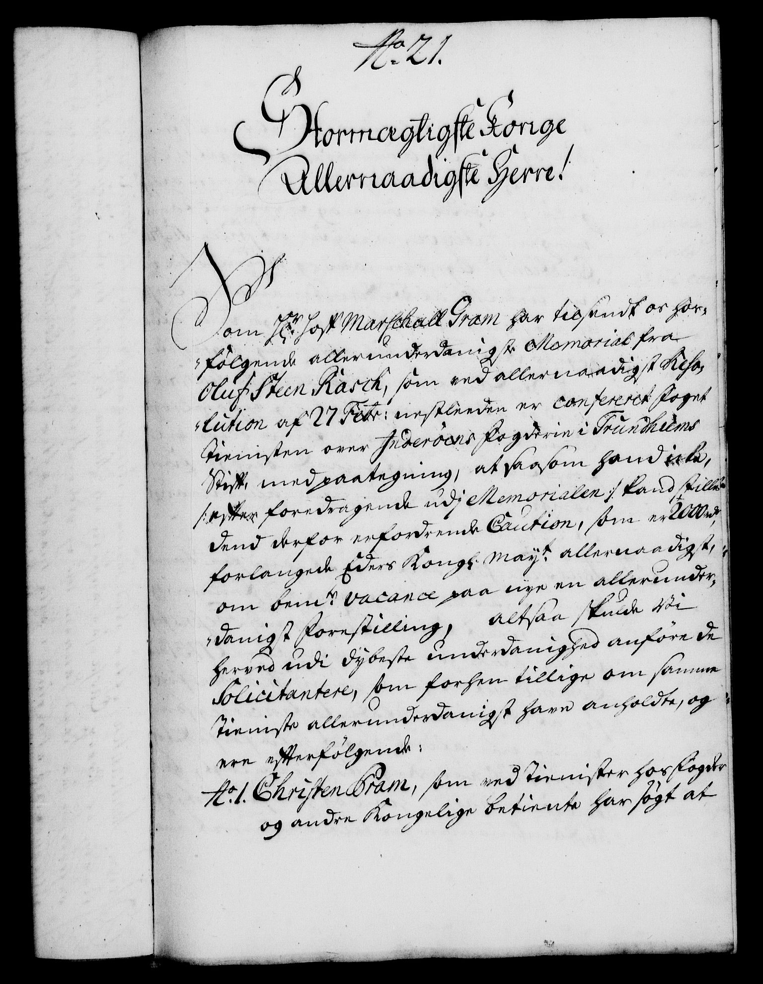 RA, Rentekammeret, Kammerkanselliet, G/Gf/Gfa/L0018: Norsk relasjons- og resolusjonsprotokoll (merket RK 52.18), 1735, s. 143