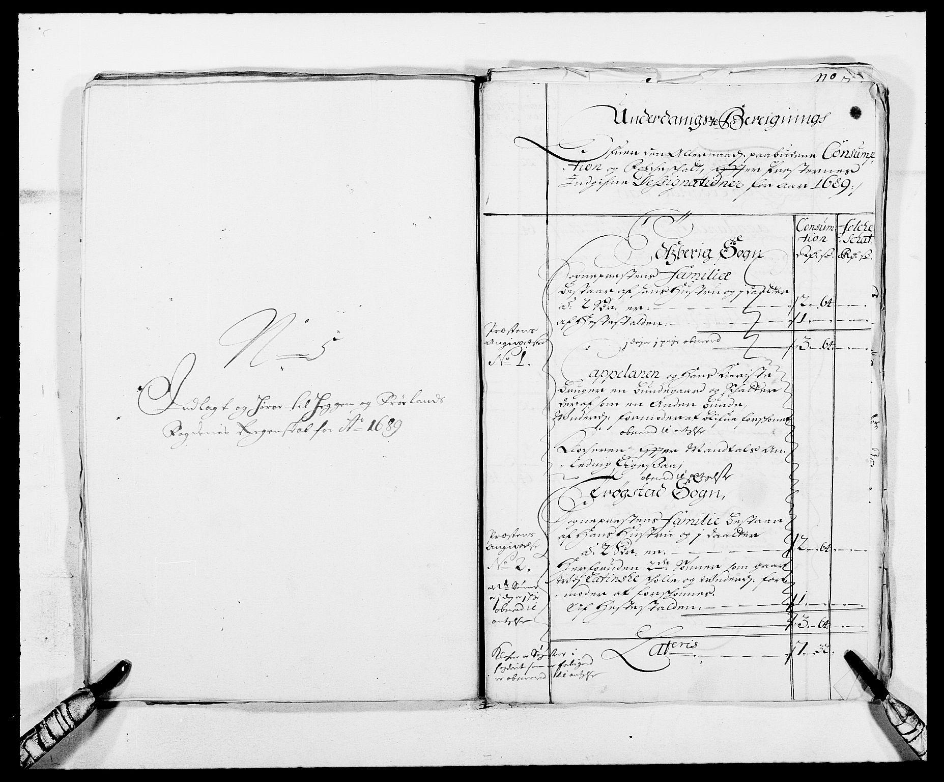 RA, Rentekammeret inntil 1814, Reviderte regnskaper, Fogderegnskap, R06/L0282: Fogderegnskap Heggen og Frøland, 1687-1690, s. 160