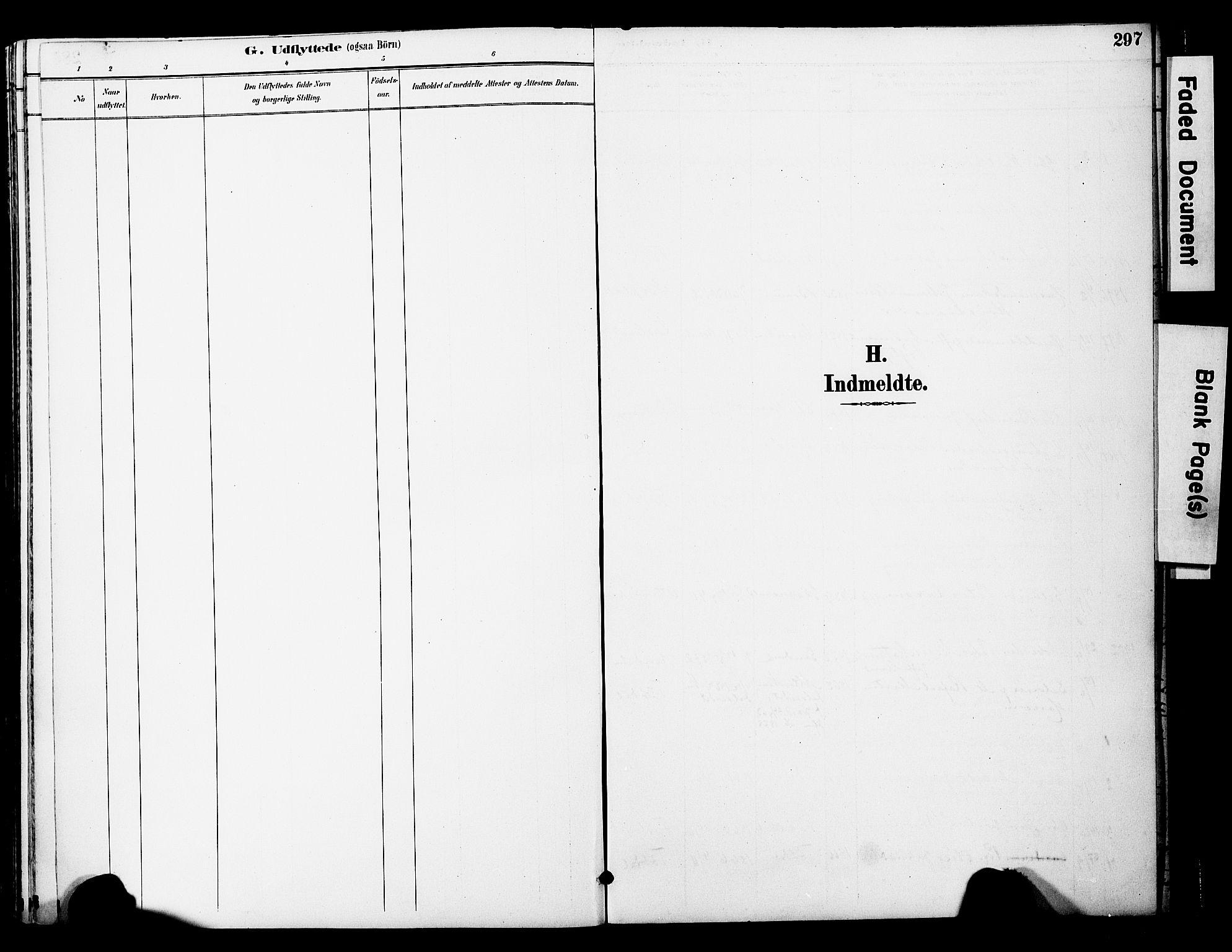 SAT, Ministerialprotokoller, klokkerbøker og fødselsregistre - Nord-Trøndelag, 774/L0628: Ministerialbok nr. 774A02, 1887-1903, s. 297