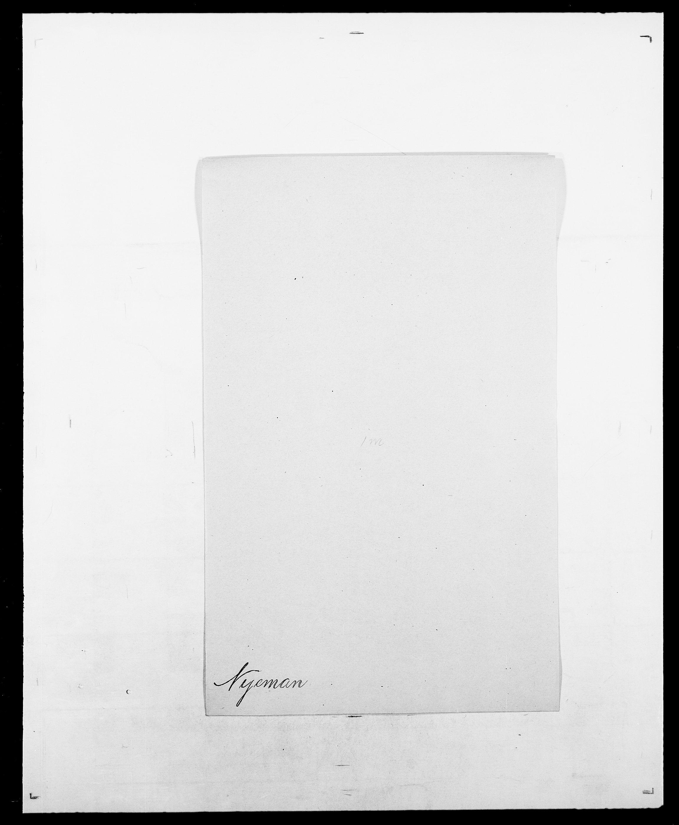 SAO, Delgobe, Charles Antoine - samling, D/Da/L0028: Naaden - Nøvik, s. 525