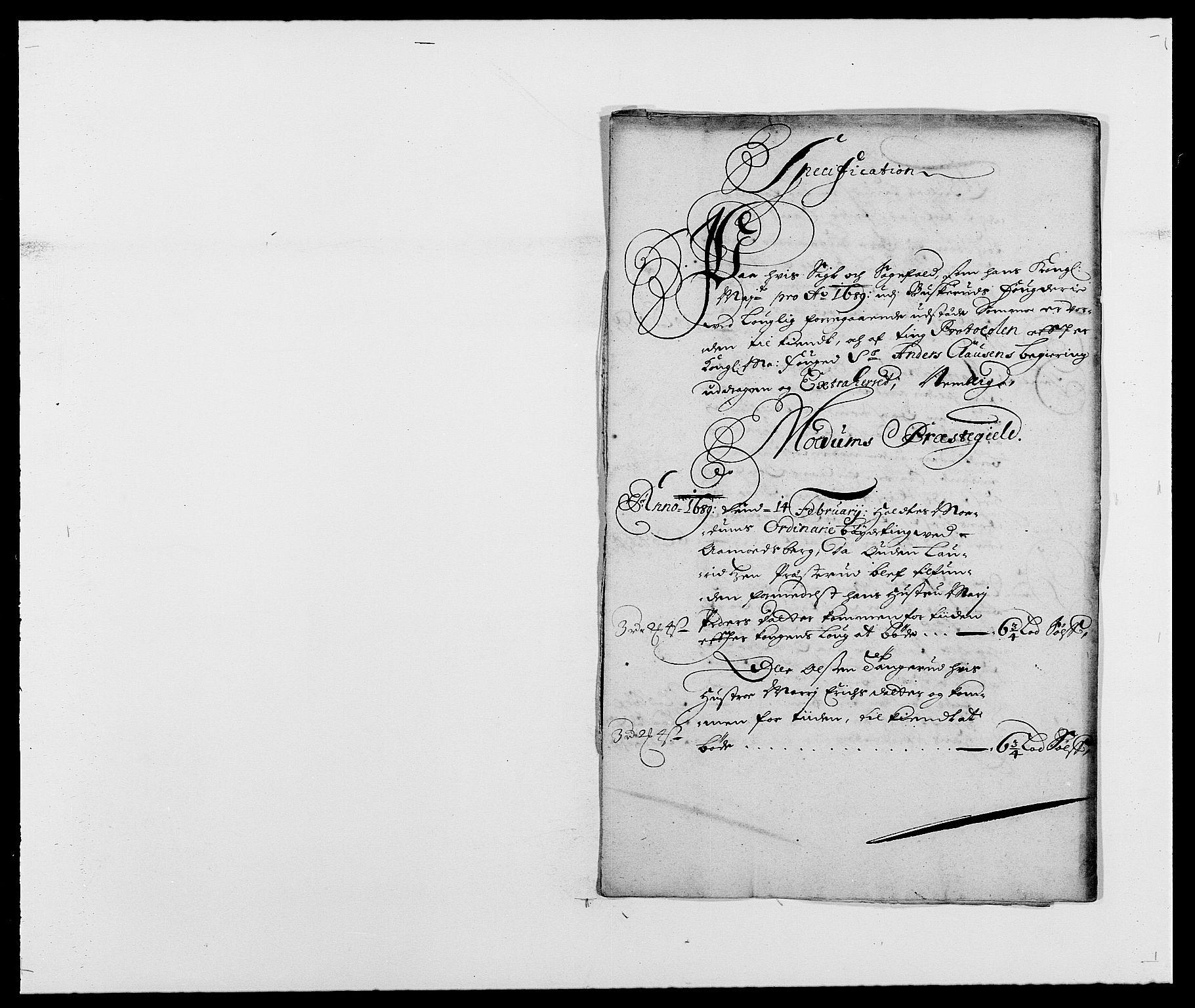RA, Rentekammeret inntil 1814, Reviderte regnskaper, Fogderegnskap, R25/L1680: Fogderegnskap Buskerud, 1689-1690, s. 50