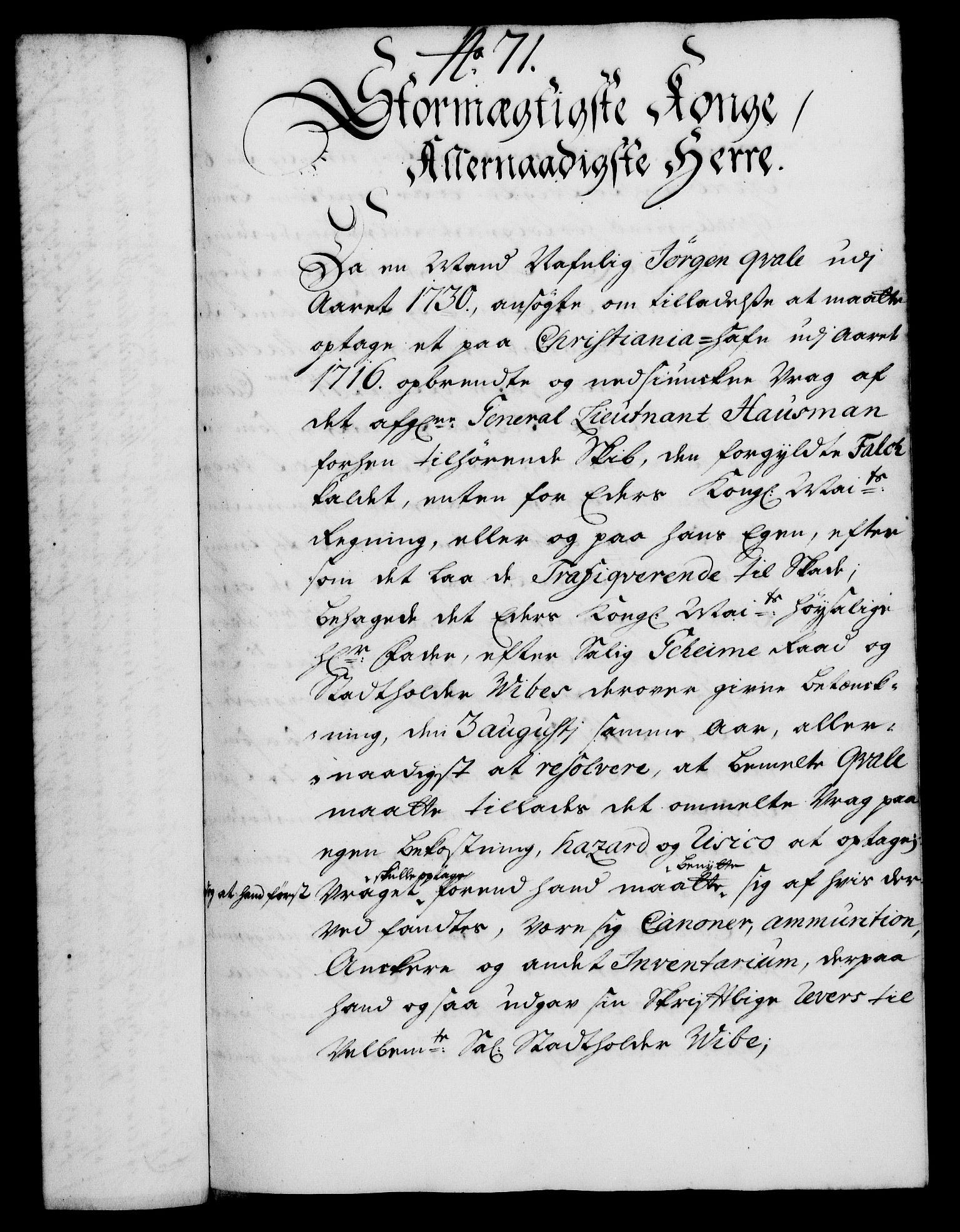 RA, Rentekammeret, Kammerkanselliet, G/Gf/Gfa/L0018: Norsk relasjons- og resolusjonsprotokoll (merket RK 52.18), 1735, s. 478