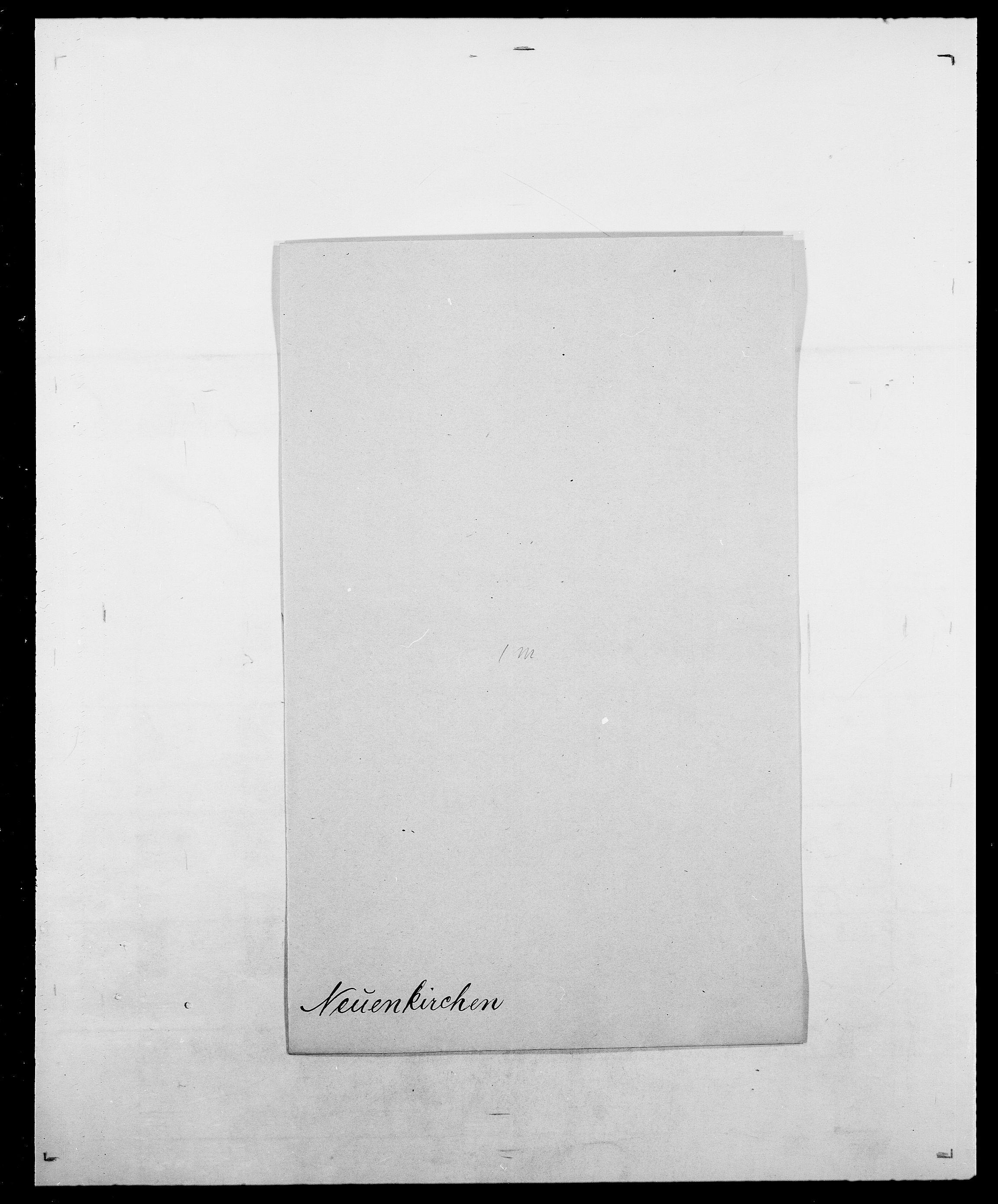 SAO, Delgobe, Charles Antoine - samling, D/Da/L0028: Naaden - Nøvik, s. 133
