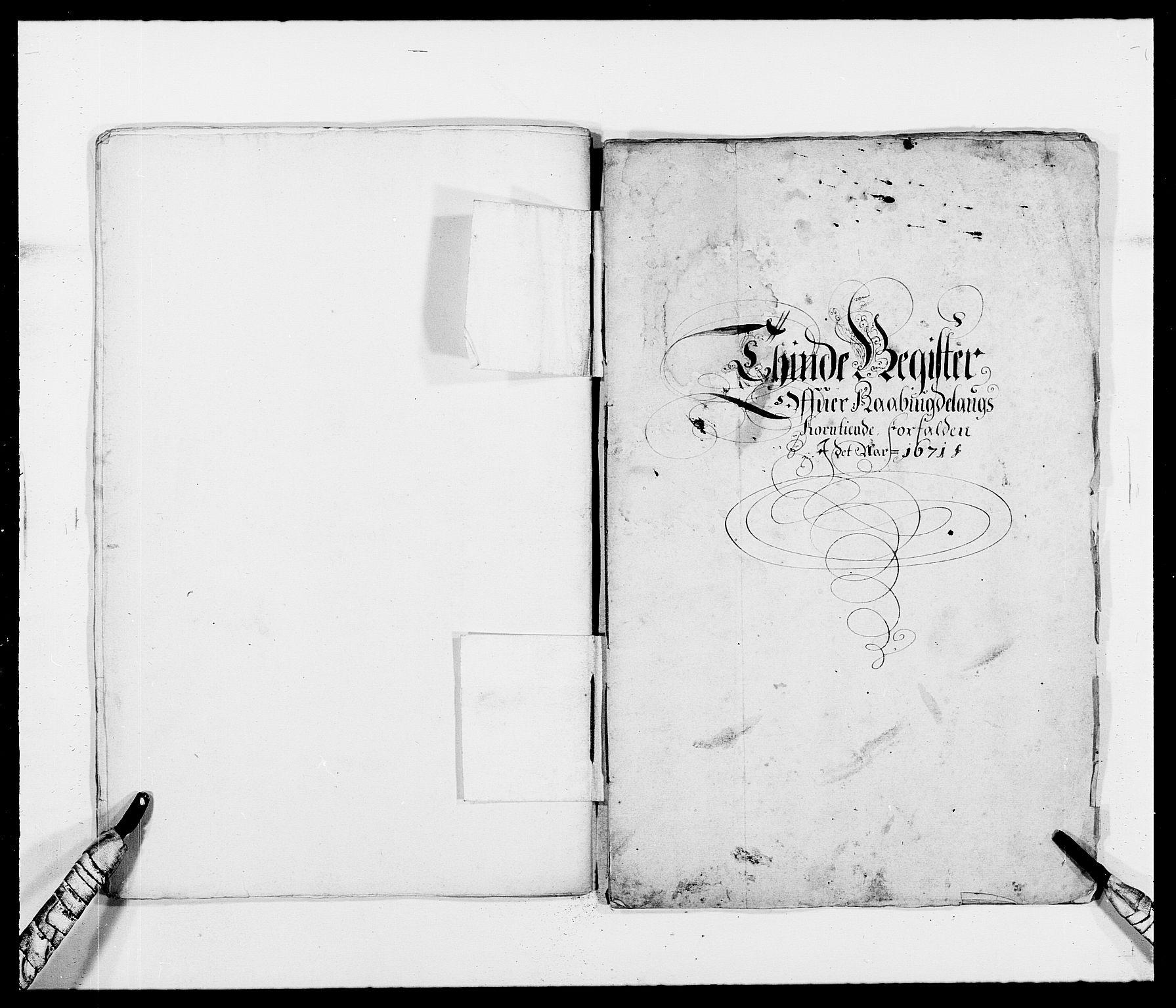 RA, Rentekammeret inntil 1814, Reviderte regnskaper, Fogderegnskap, R40/L2433: Fogderegnskap Råbyggelag, 1671-1674, s. 43
