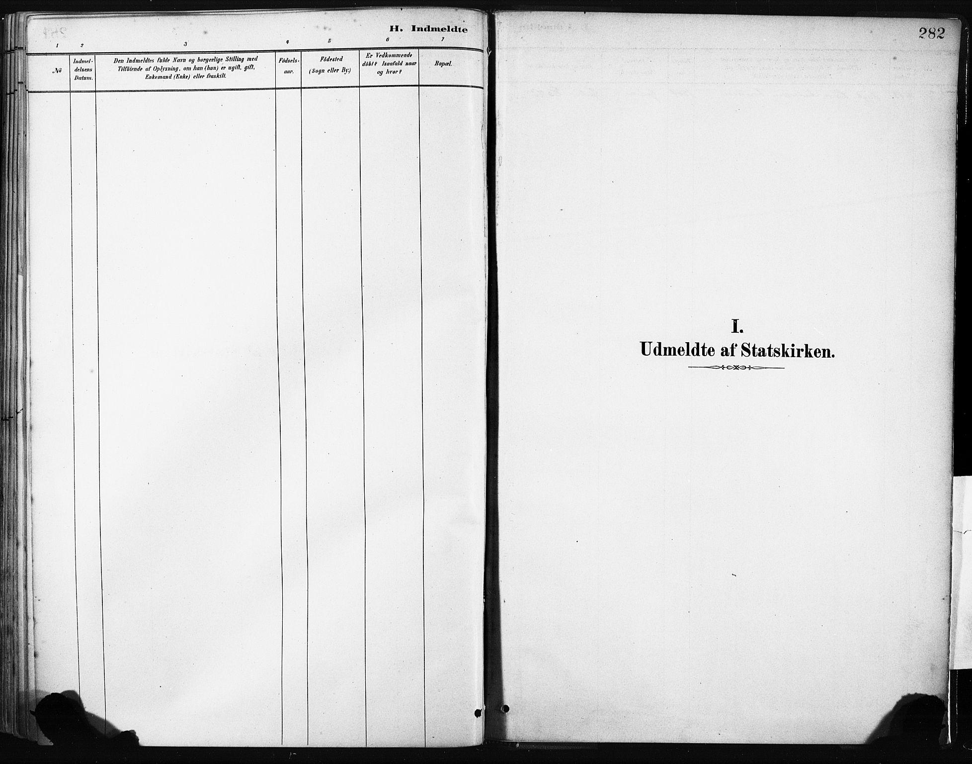 SAB, Gulen Sokneprestembete, Ministerialbok nr. B 1, 1881-1905, s. 282