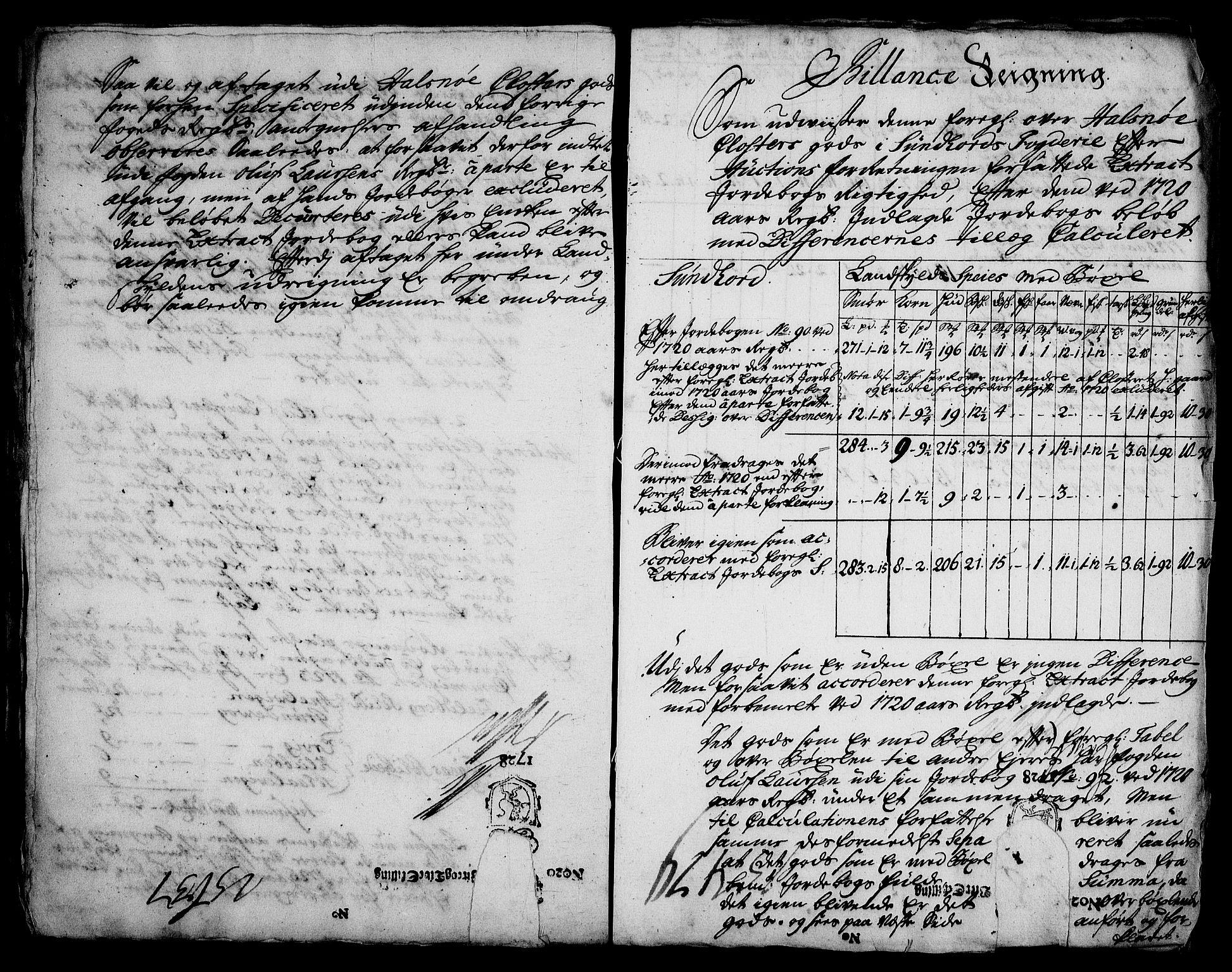 RA, Rentekammeret inntil 1814, Realistisk ordnet avdeling, On/L0003: [Jj 4]: Kommisjonsforretning over Vilhelm Hanssøns forpaktning av Halsnøy klosters gods, 1721-1729, s. 465