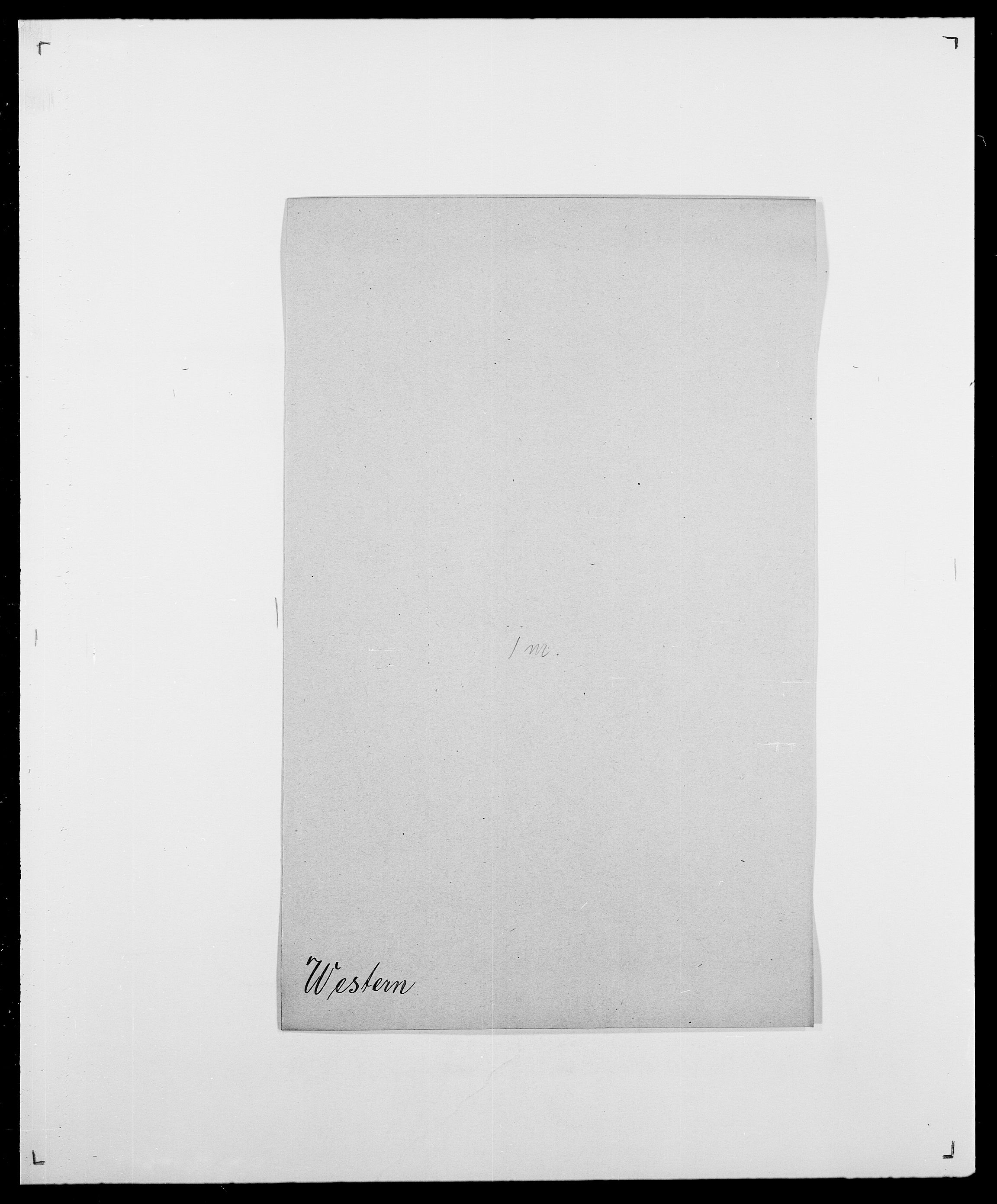 SAO, Delgobe, Charles Antoine - samling, D/Da/L0041: Vemmestad - Viker, s. 289
