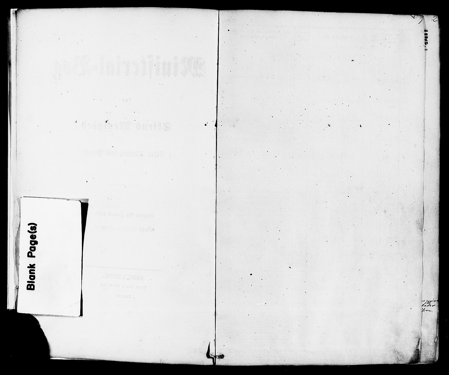 SAKO, Skien kirkebøker, F/Fa/L0008: Ministerialbok nr. 8, 1866-1877, s. 1