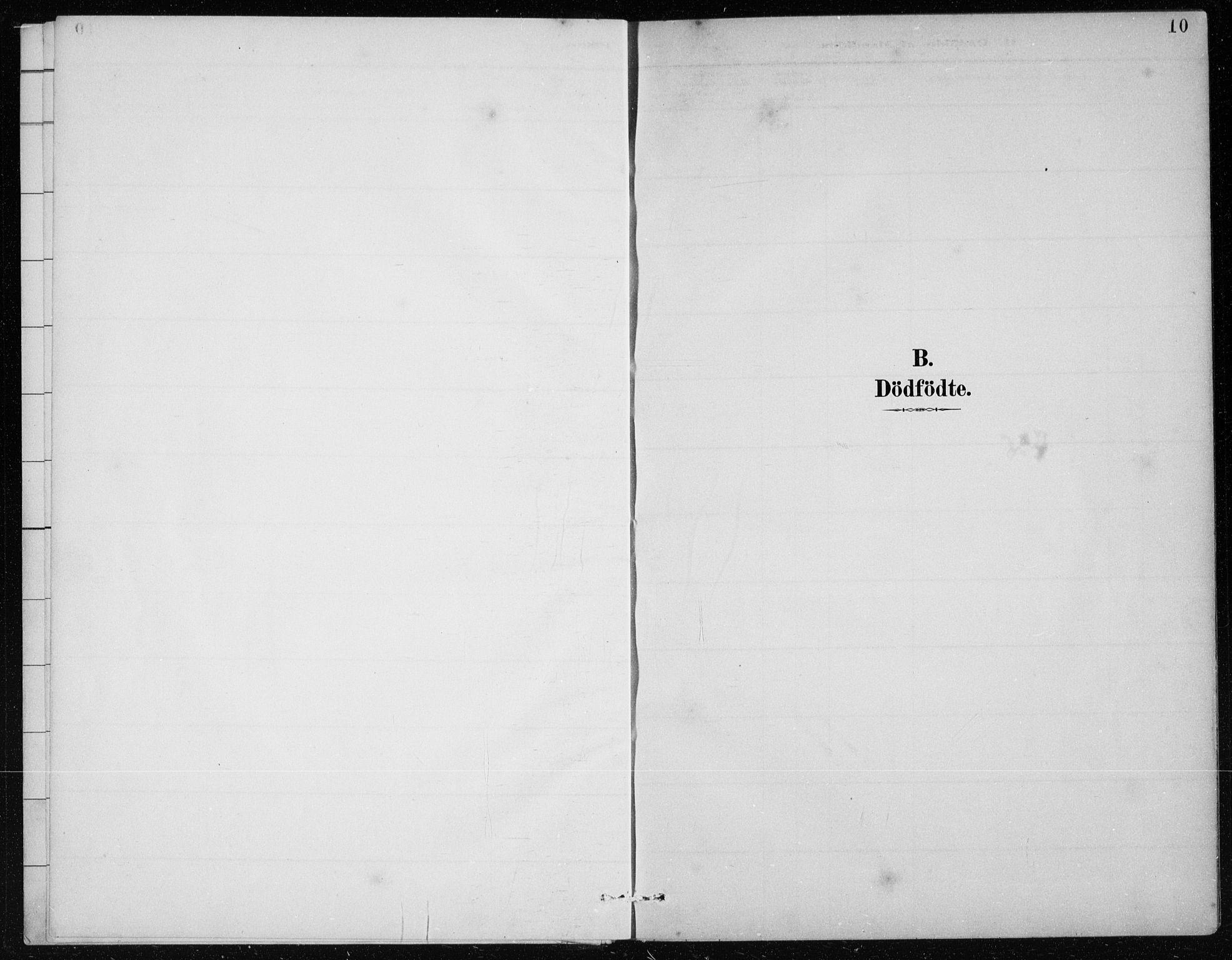SAB, St. Jørgens hospital og Årstad sokneprestembete, Klokkerbok nr. A 10, 1886-1910, s. 10