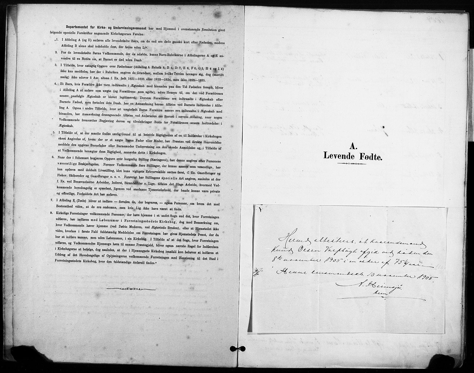SAT, Ministerialprotokoller, klokkerbøker og fødselsregistre - Sør-Trøndelag, 633/L0518: Ministerialbok nr. 633A01, 1884-1906