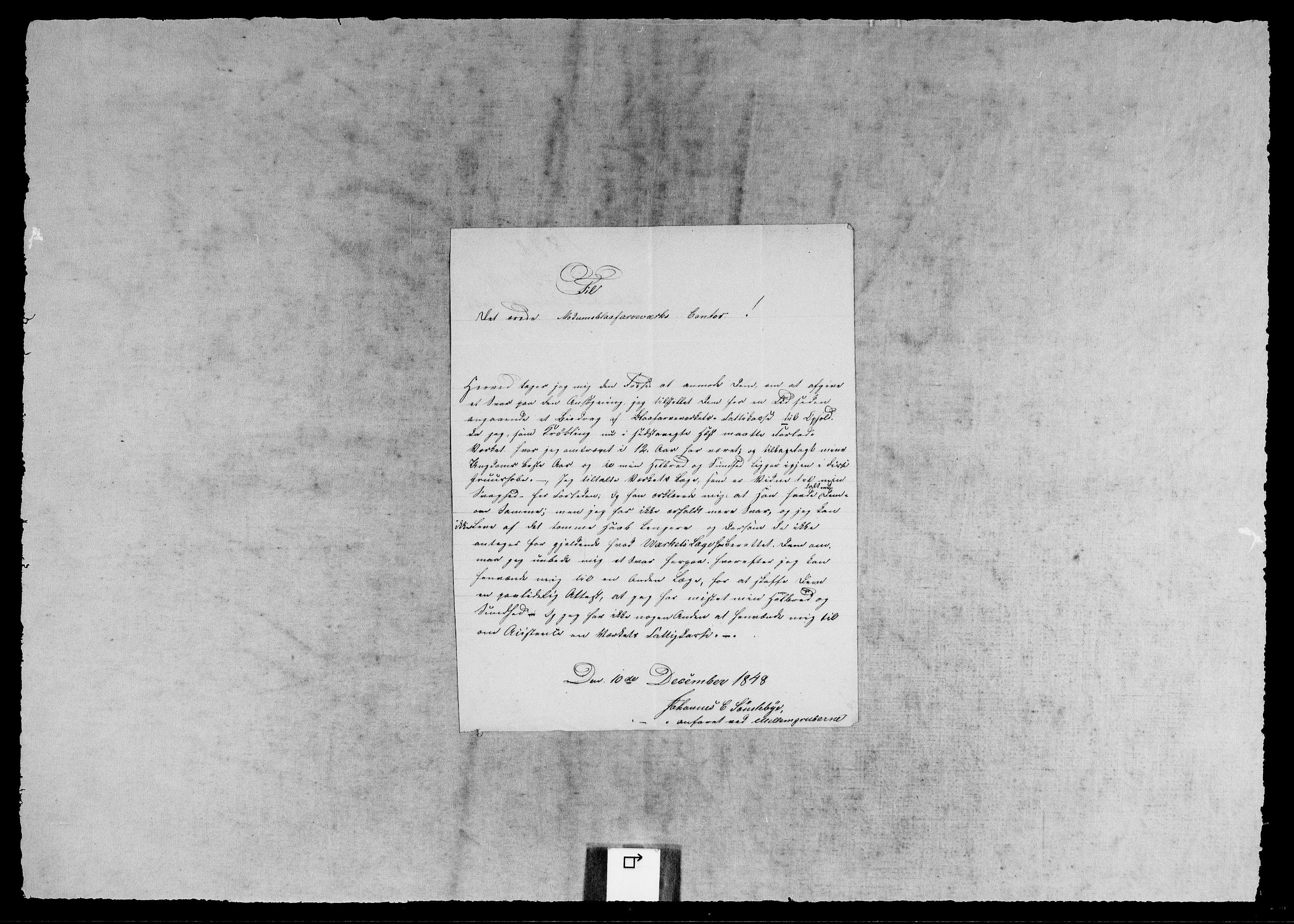 RA, Modums Blaafarveværk, G/Gb/L0134, 1822-1849, s. 2