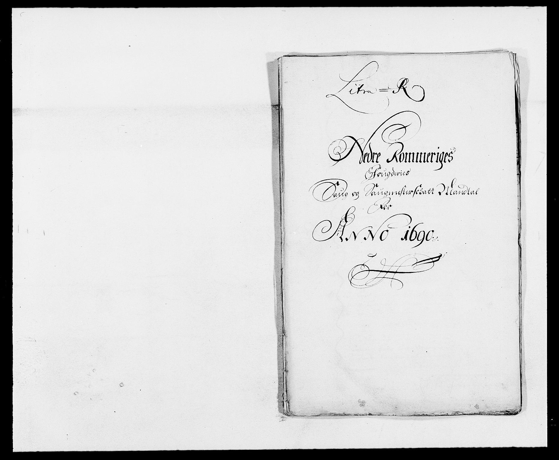 RA, Rentekammeret inntil 1814, Reviderte regnskaper, Fogderegnskap, R11/L0574: Fogderegnskap Nedre Romerike, 1689-1690, s. 371