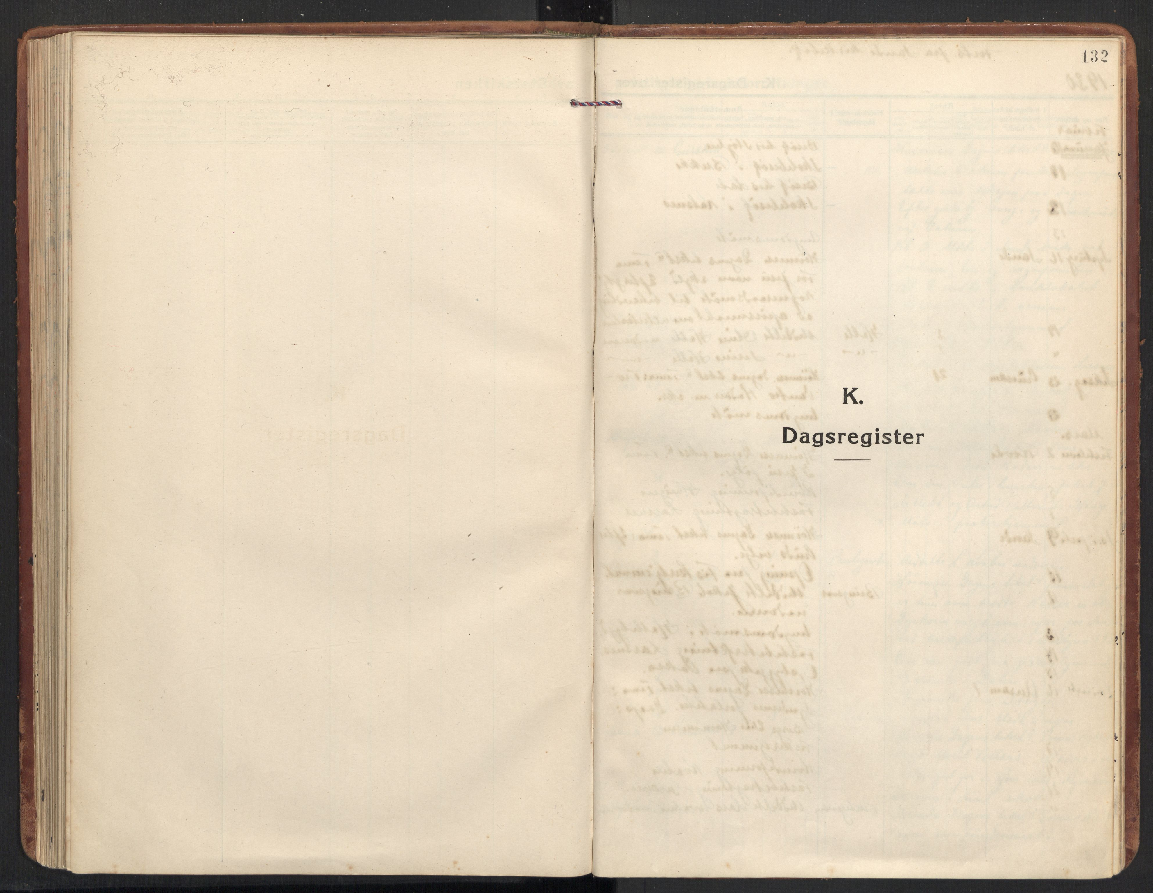SAT, Ministerialprotokoller, klokkerbøker og fødselsregistre - Møre og Romsdal, 504/L0058: Ministerialbok nr. 504A05, 1920-1940, s. 132