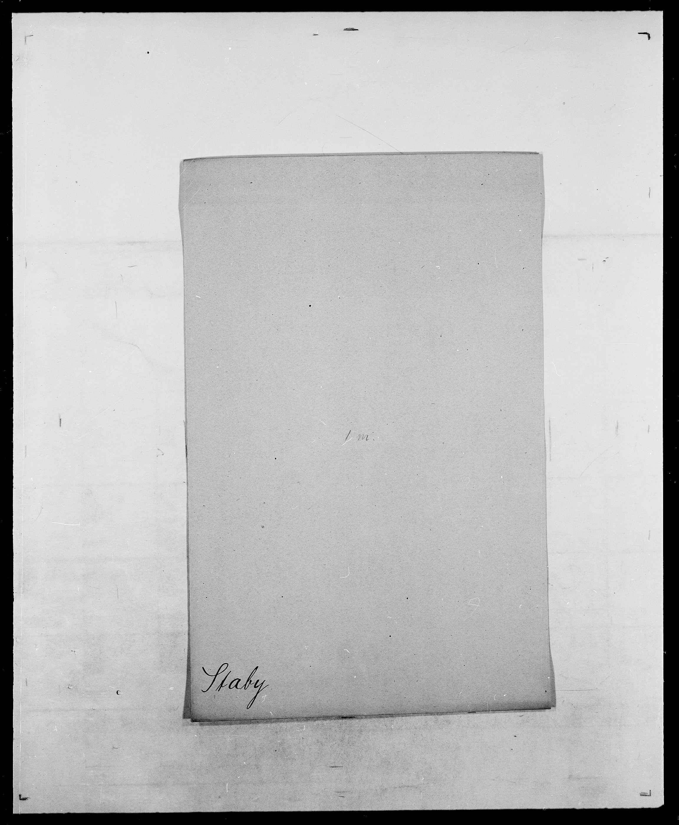 SAO, Delgobe, Charles Antoine - samling, D/Da/L0036: Skaanør - Staverskov, s. 914