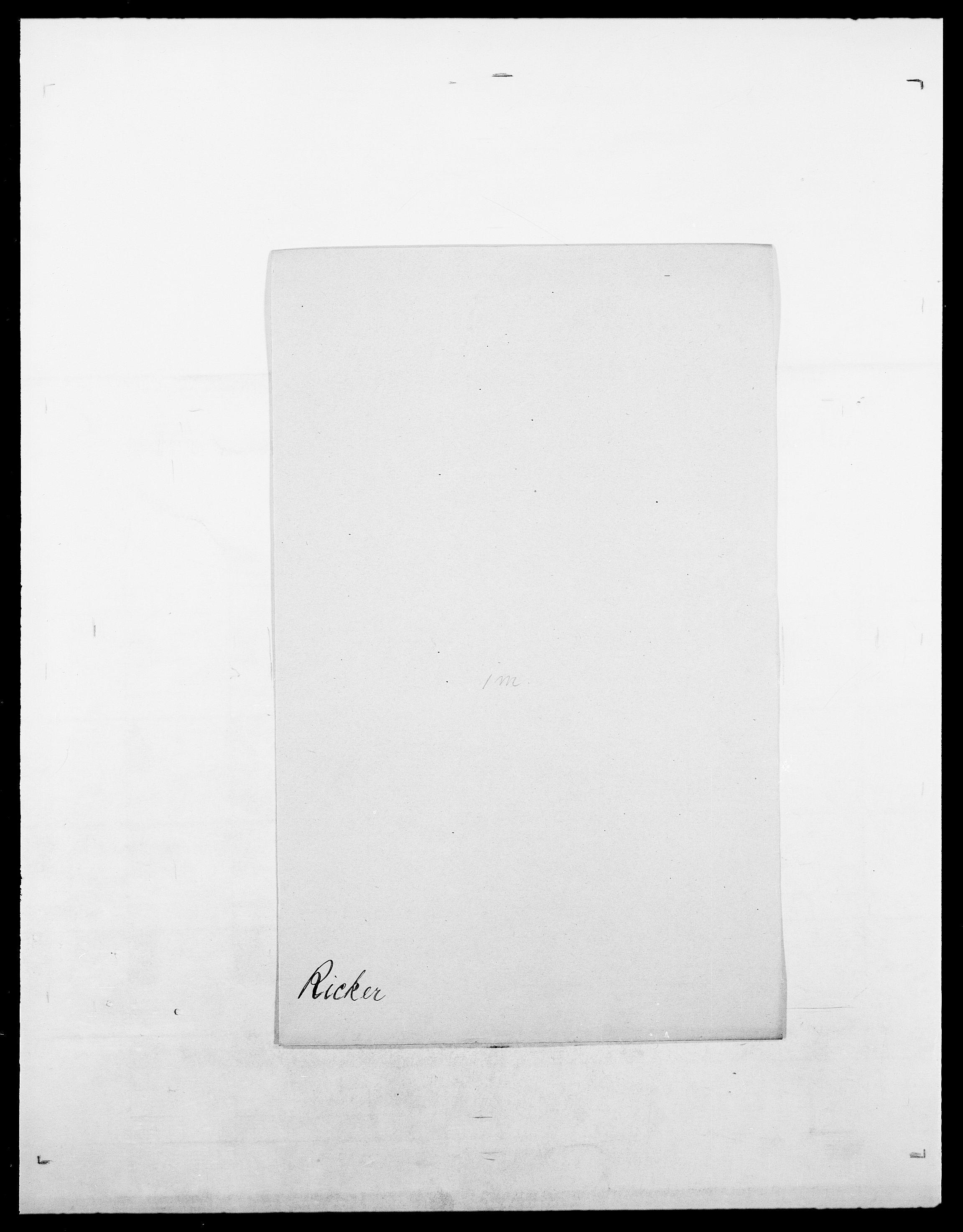 SAO, Delgobe, Charles Antoine - samling, D/Da/L0032: Rabakovsky - Rivertz, s. 558