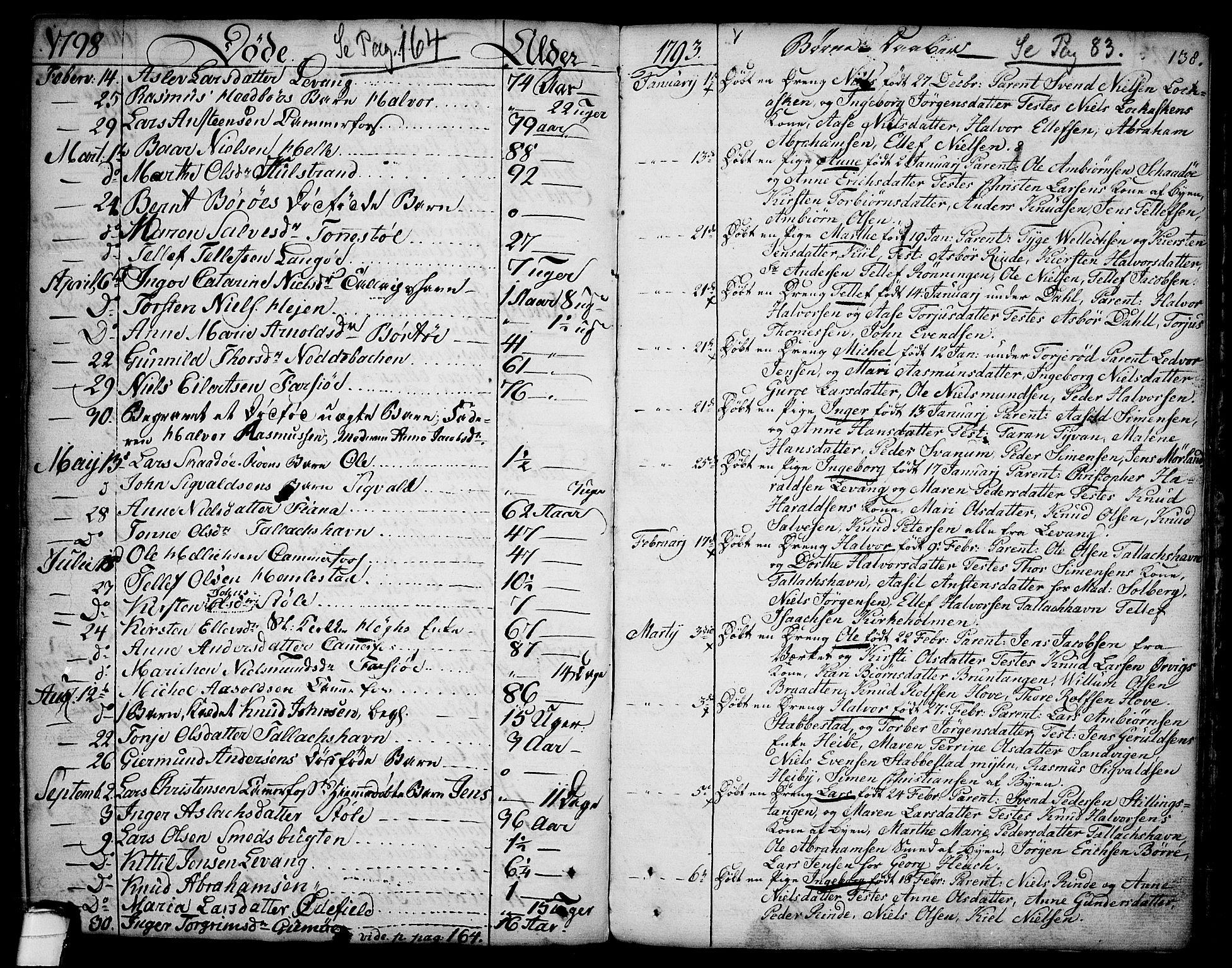 SAKO, Sannidal kirkebøker, F/Fa/L0002: Ministerialbok nr. 2, 1767-1802, s. 138