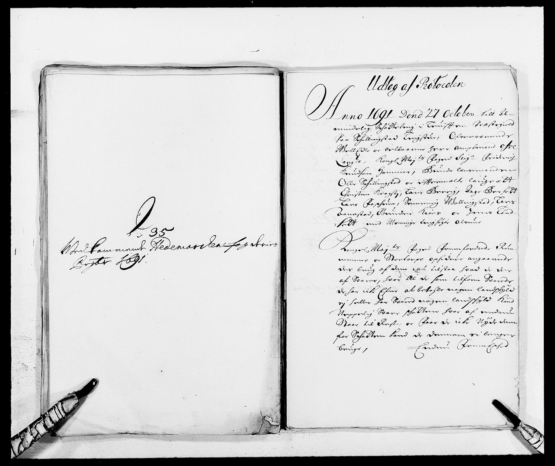 RA, Rentekammeret inntil 1814, Reviderte regnskaper, Fogderegnskap, R16/L1032: Fogderegnskap Hedmark, 1689-1692, s. 73