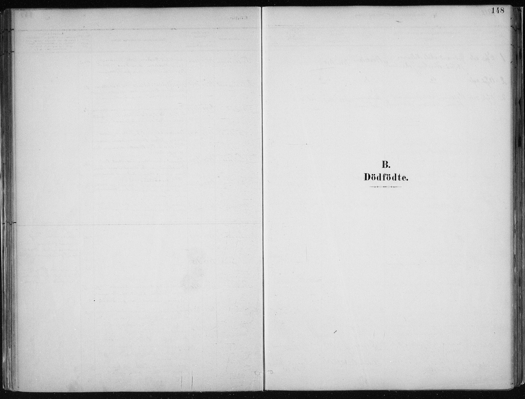 SAB, Hamre Sokneprestembete, H/Ha/Haa: Ministerialbok nr. B  1, 1882-1905, s. 148