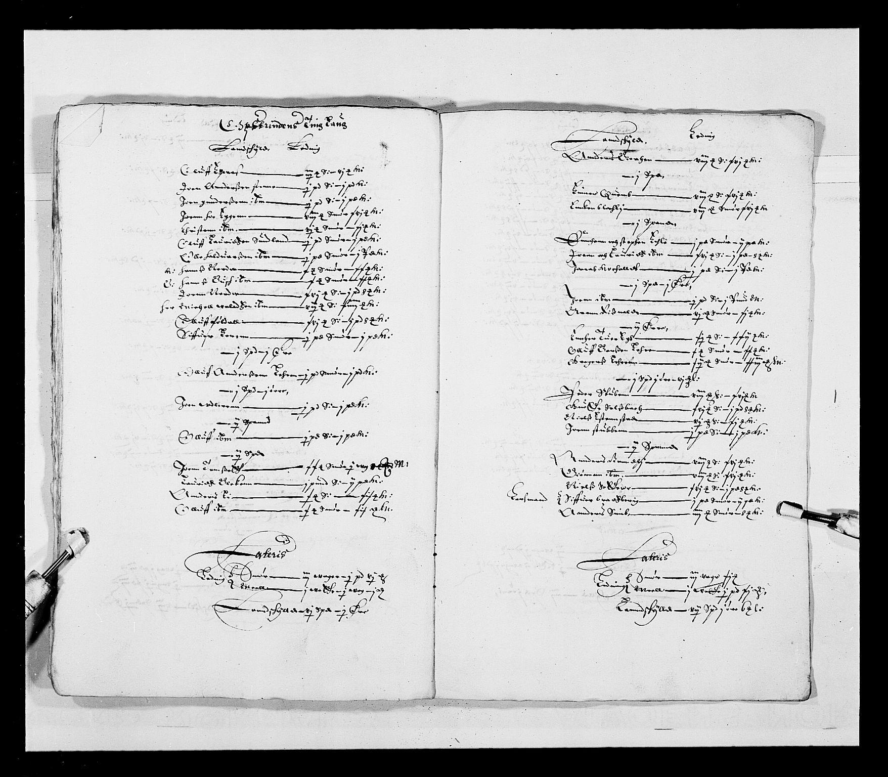 RA, Stattholderembetet 1572-1771, Ek/L0028: Jordebøker 1633-1658:, 1645-1646, s. 177