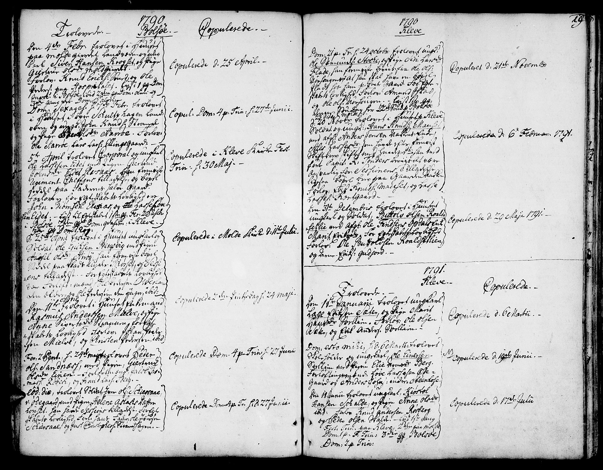 SAT, Ministerialprotokoller, klokkerbøker og fødselsregistre - Møre og Romsdal, 555/L0648: Ministerialbok nr. 555A01, 1759-1793, s. 19