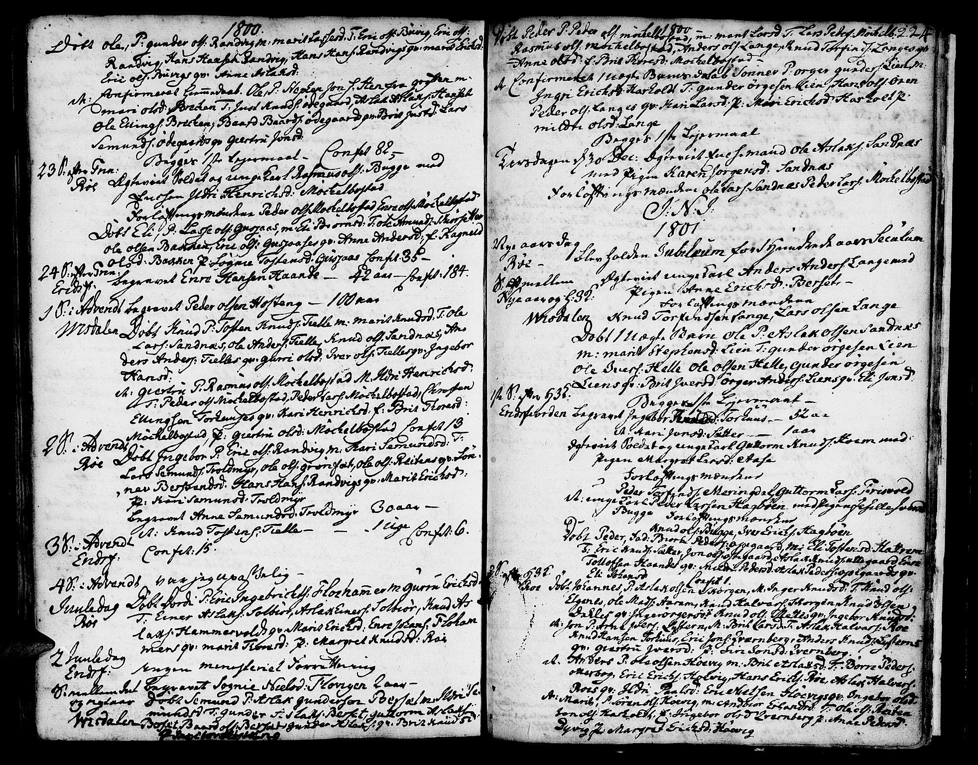 SAT, Ministerialprotokoller, klokkerbøker og fødselsregistre - Møre og Romsdal, 551/L0621: Ministerialbok nr. 551A01, 1757-1803, s. 224