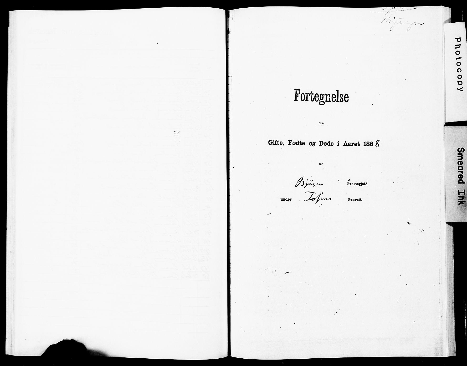 SAT, Ministerialprotokoller, klokkerbøker og fødselsregistre - Sør-Trøndelag, 651/L0642: Ministerialbok nr. 651A01, 1866-1872
