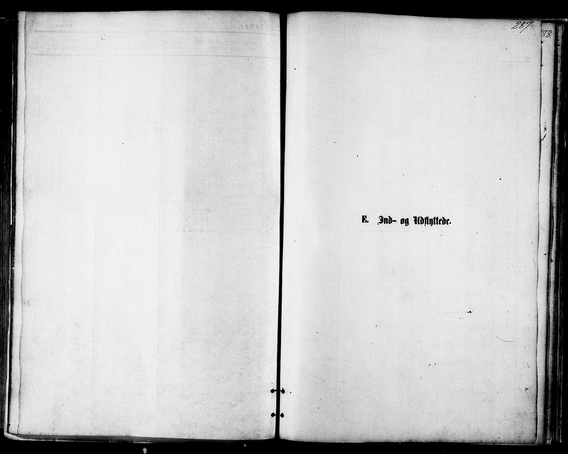 SAT, Ministerialprotokoller, klokkerbøker og fødselsregistre - Nordland, 801/L0009: Ministerialbok nr. 801A09, 1876-1883, s. 287
