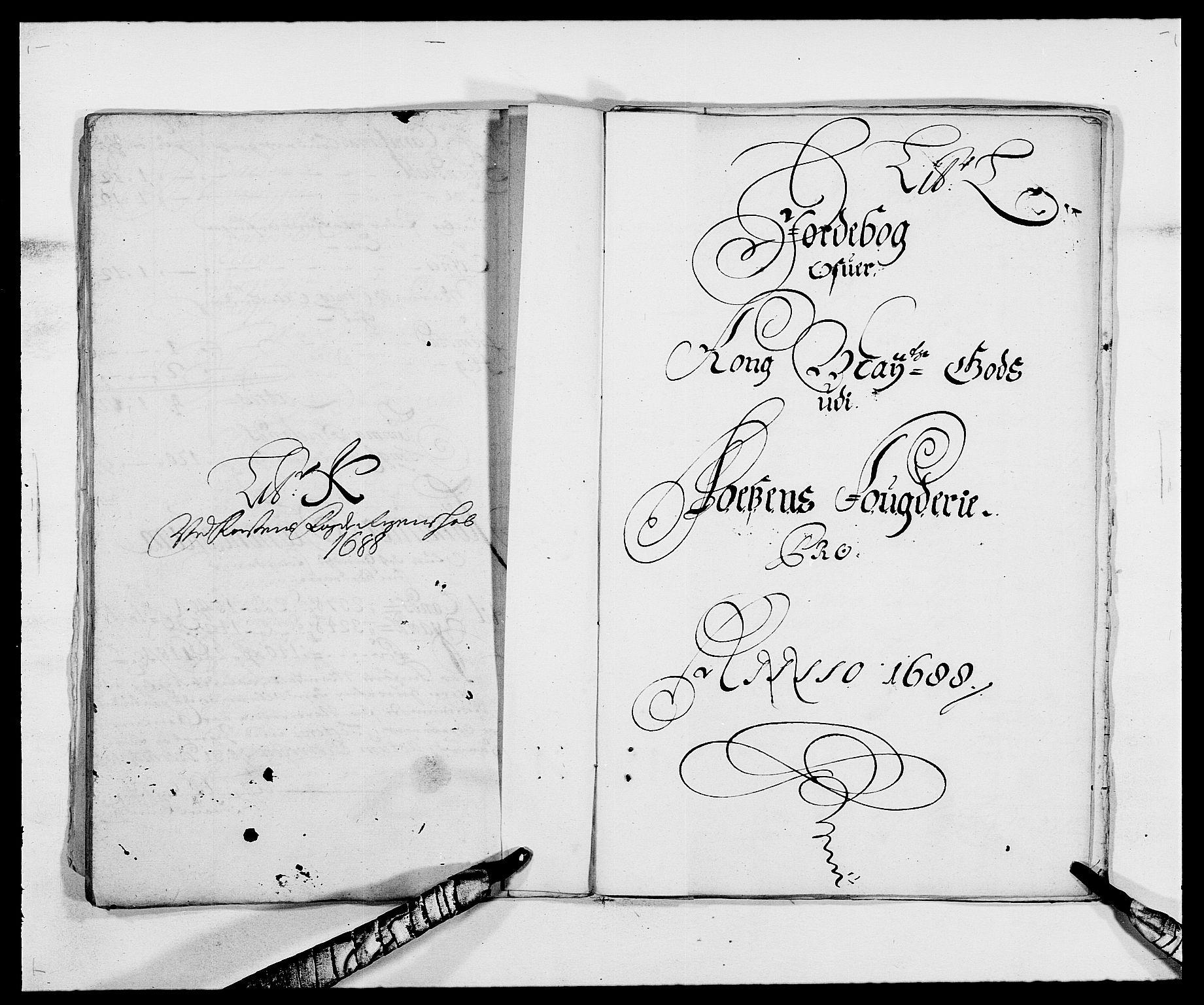 RA, Rentekammeret inntil 1814, Reviderte regnskaper, Fogderegnskap, R57/L3846: Fogderegnskap Fosen, 1688, s. 134