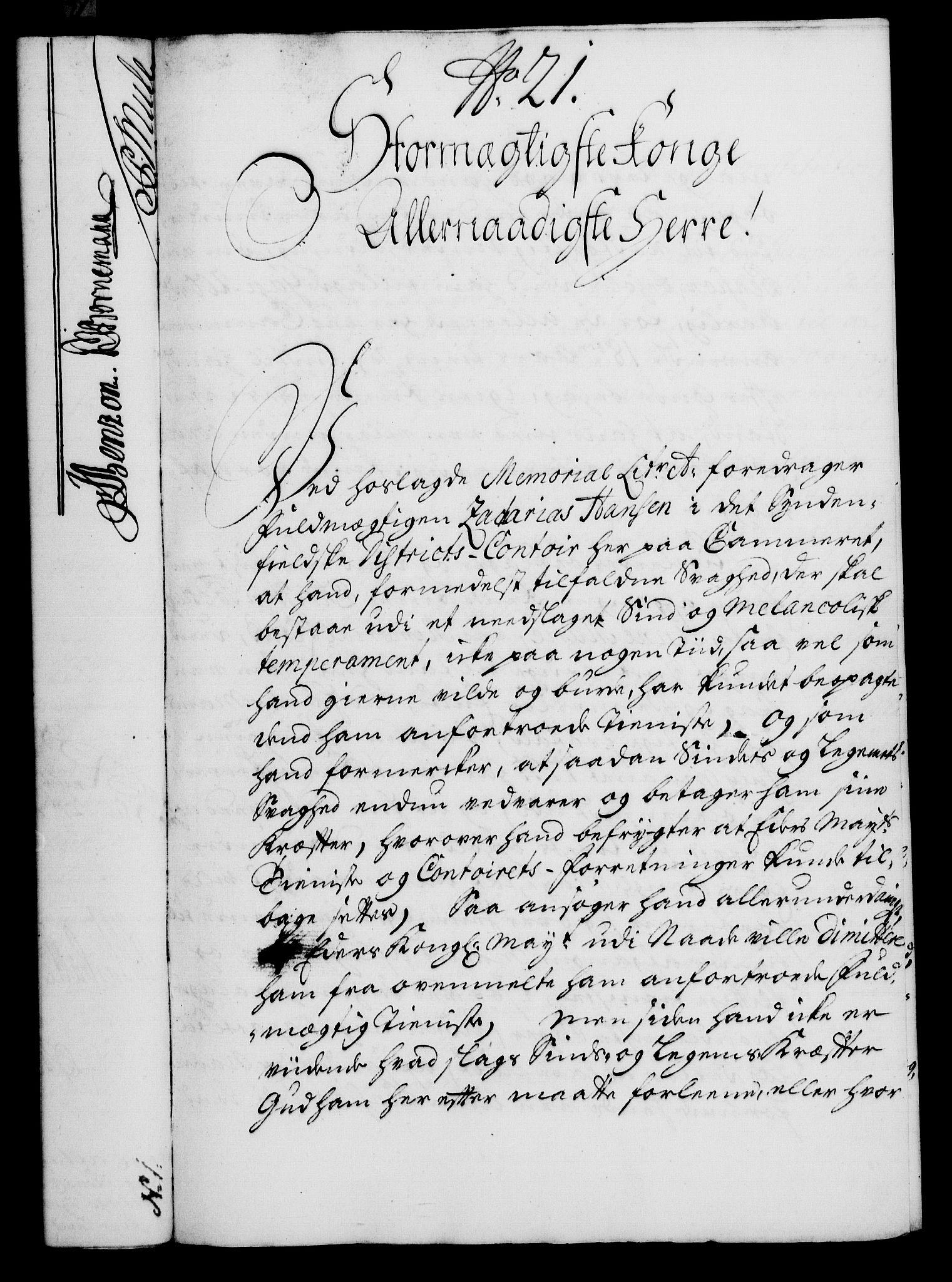 RA, Rentekammeret, Kammerkanselliet, G/Gf/Gfa/L0021: Norsk relasjons- og resolusjonsprotokoll (merket RK 52.21), 1738, s. 135