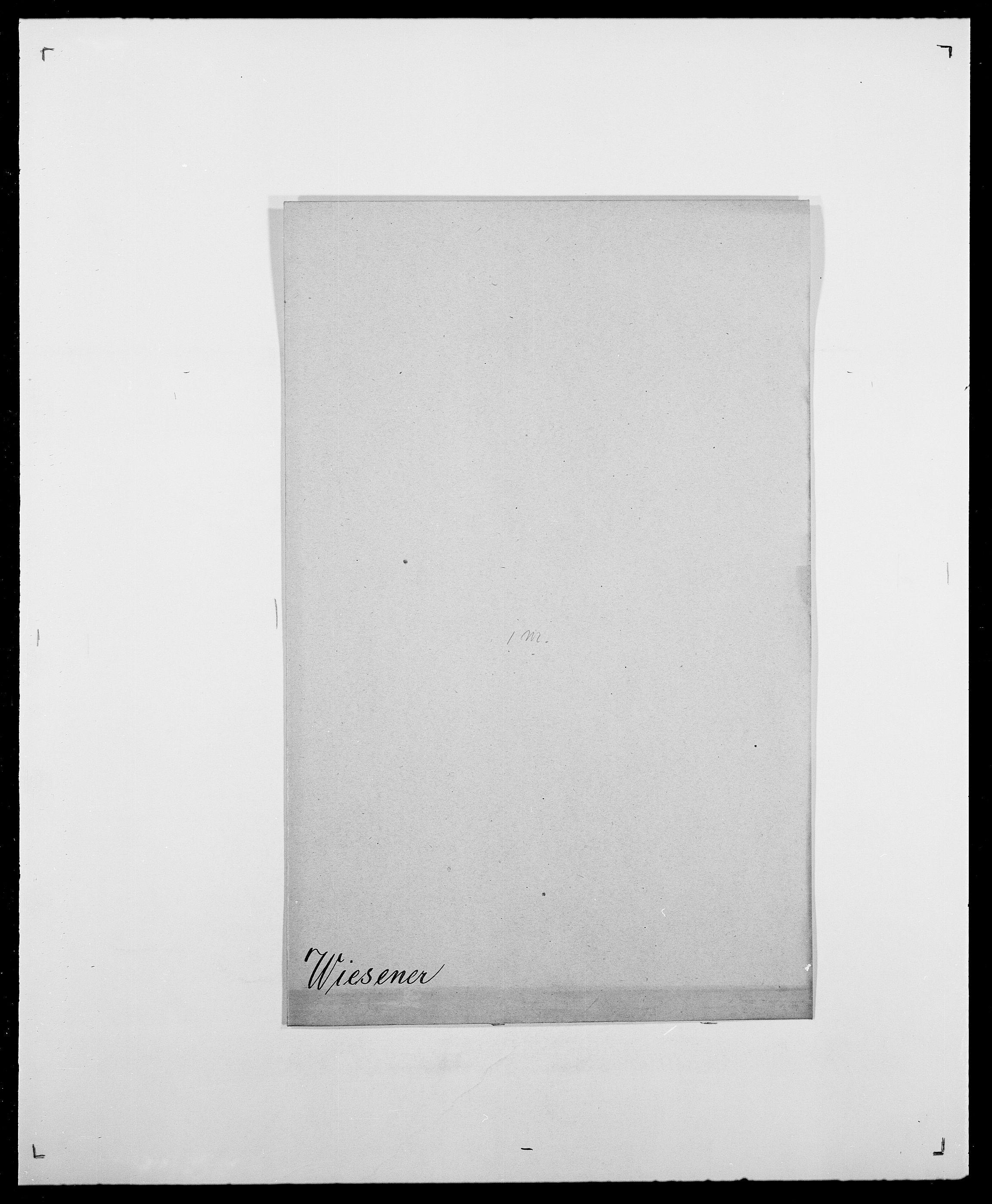 SAO, Delgobe, Charles Antoine - samling, D/Da/L0041: Vemmestad - Viker, s. 655