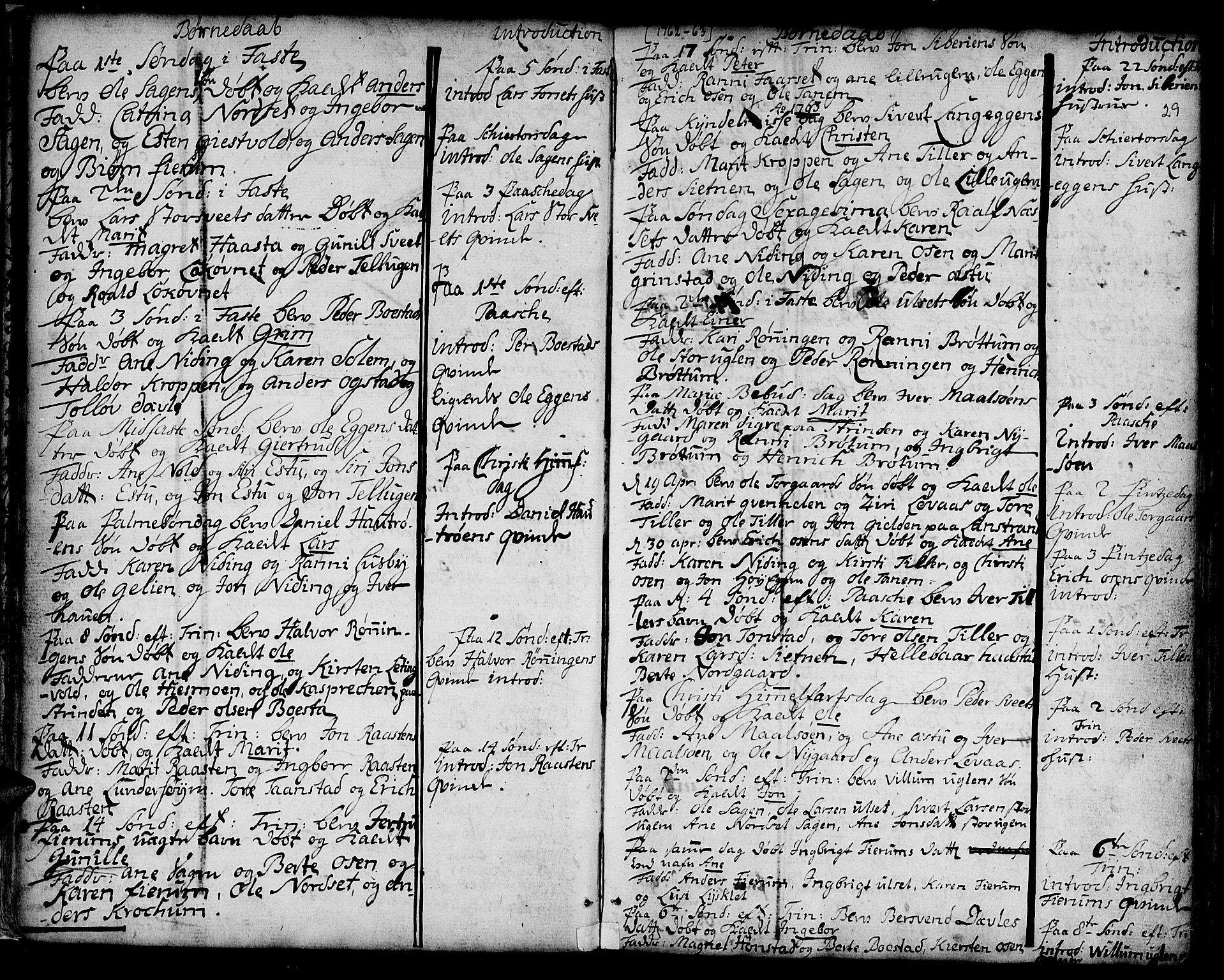 SAT, Ministerialprotokoller, klokkerbøker og fødselsregistre - Sør-Trøndelag, 618/L0437: Ministerialbok nr. 618A02, 1749-1782, s. 29