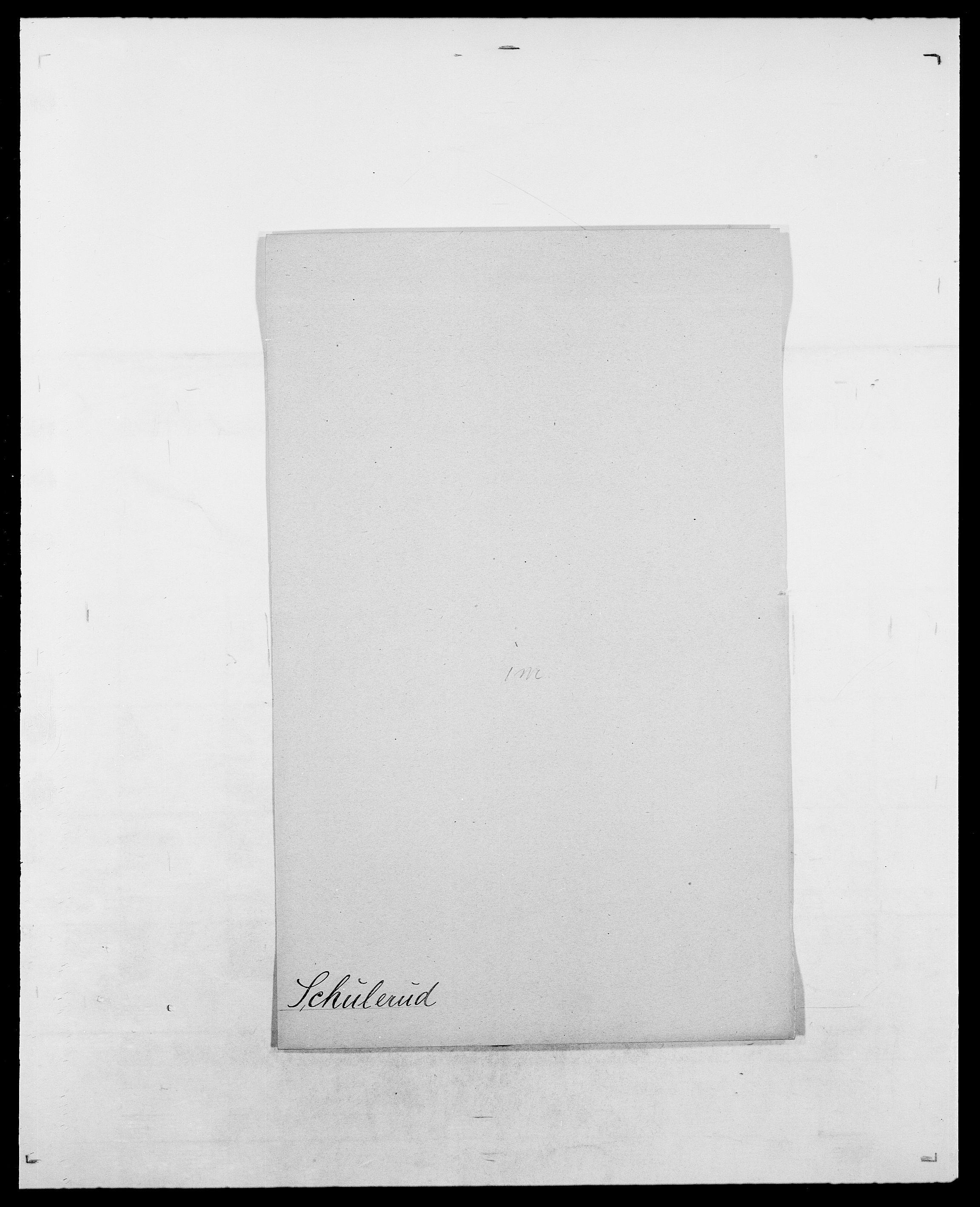 SAO, Delgobe, Charles Antoine - samling, D/Da/L0035: Schnabel - sjetman, s. 262