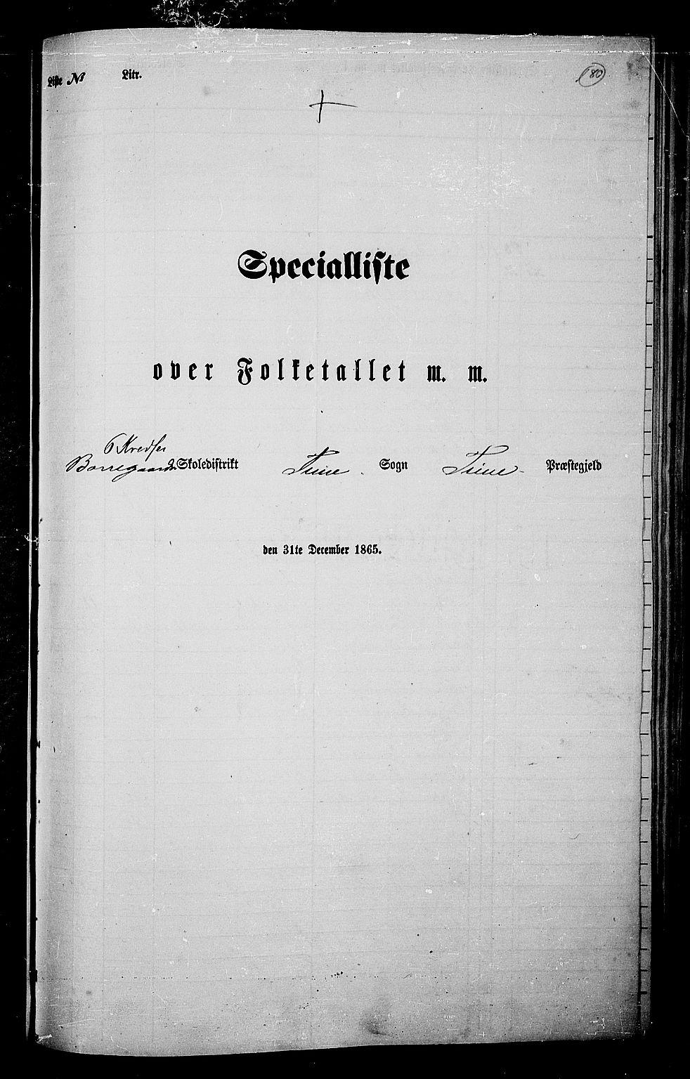 RA, Folketelling 1865 for 0130P Tune prestegjeld, 1865, s. 164