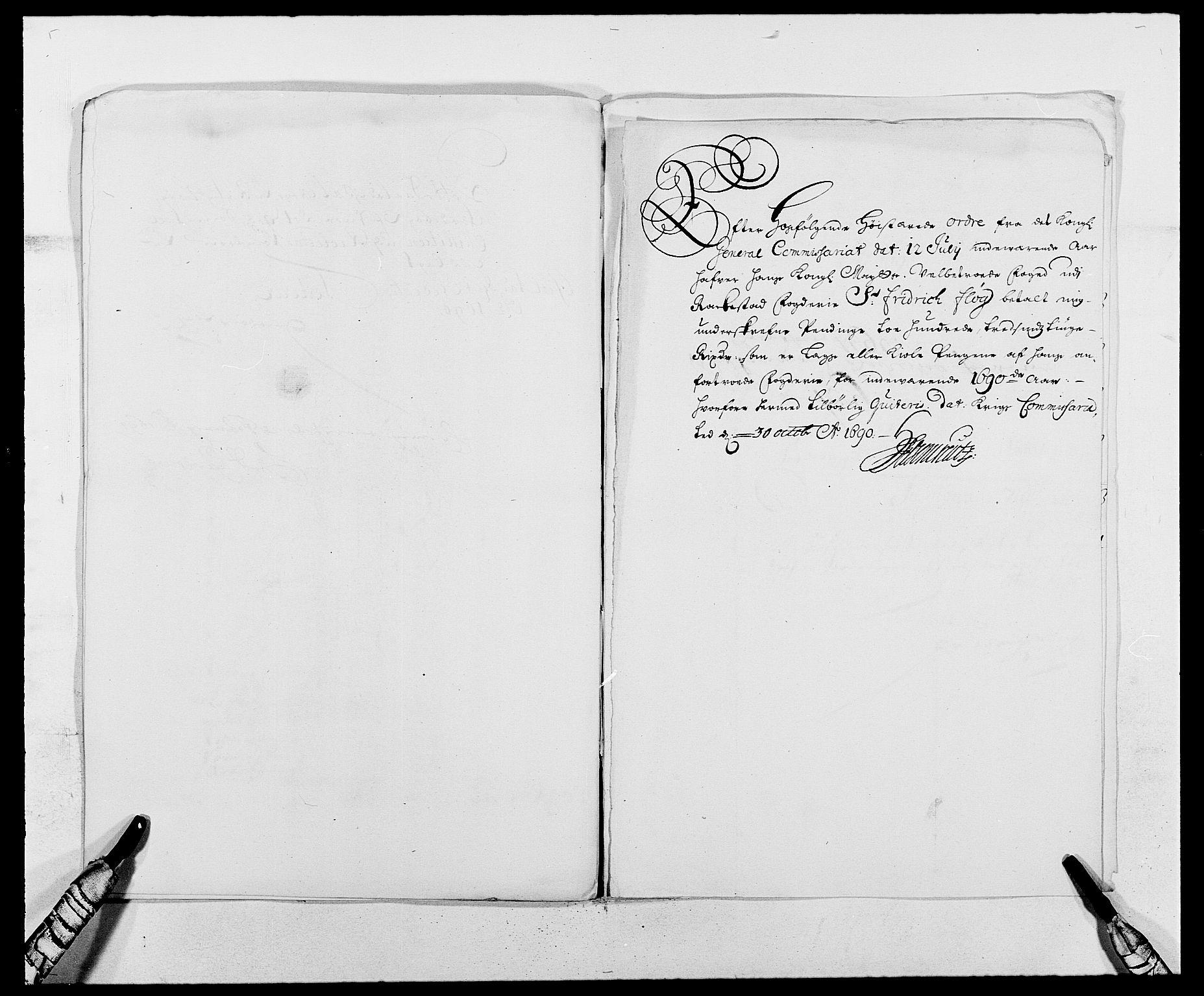 RA, Rentekammeret inntil 1814, Reviderte regnskaper, Fogderegnskap, R05/L0277: Fogderegnskap Rakkestad, 1689-1690, s. 363