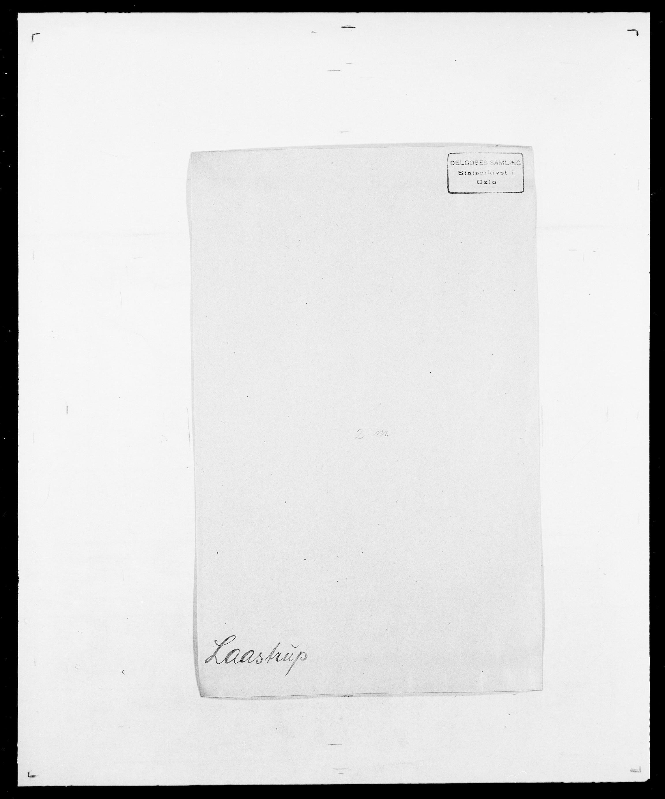 SAO, Delgobe, Charles Antoine - samling, D/Da/L0022: Krog - Lasteen, s. 353