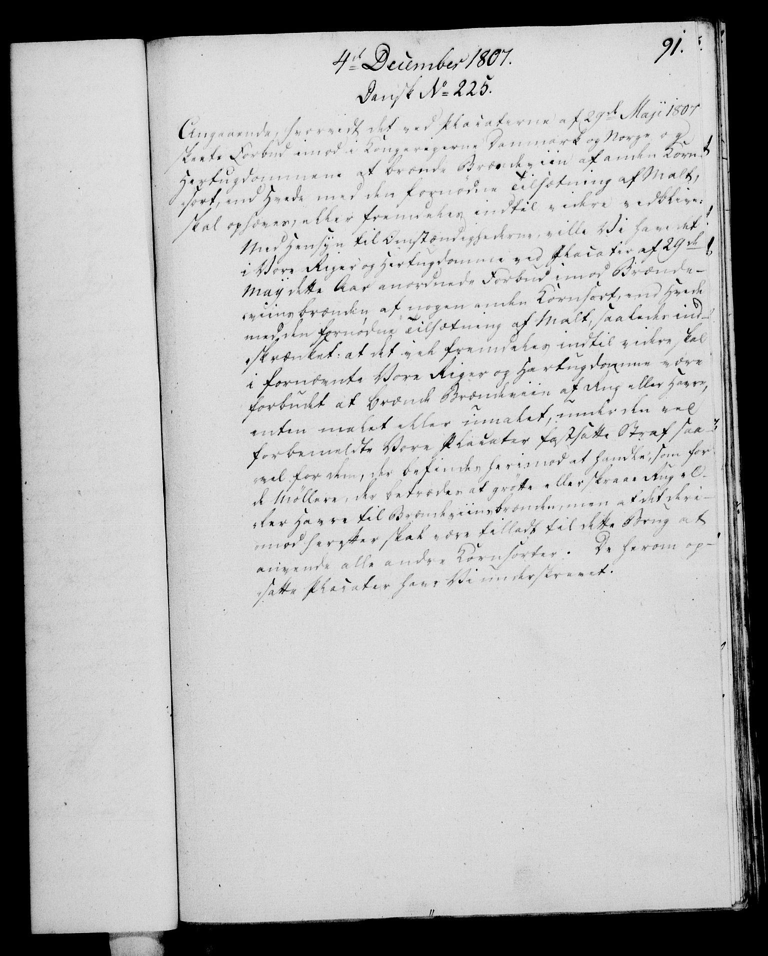 RA, Rentekammeret, Kammerkanselliet, G/Gf/Gfa/L0089: Norsk relasjons- og resolusjonsprotokoll (merket RK 52.89), 1807, s. 559