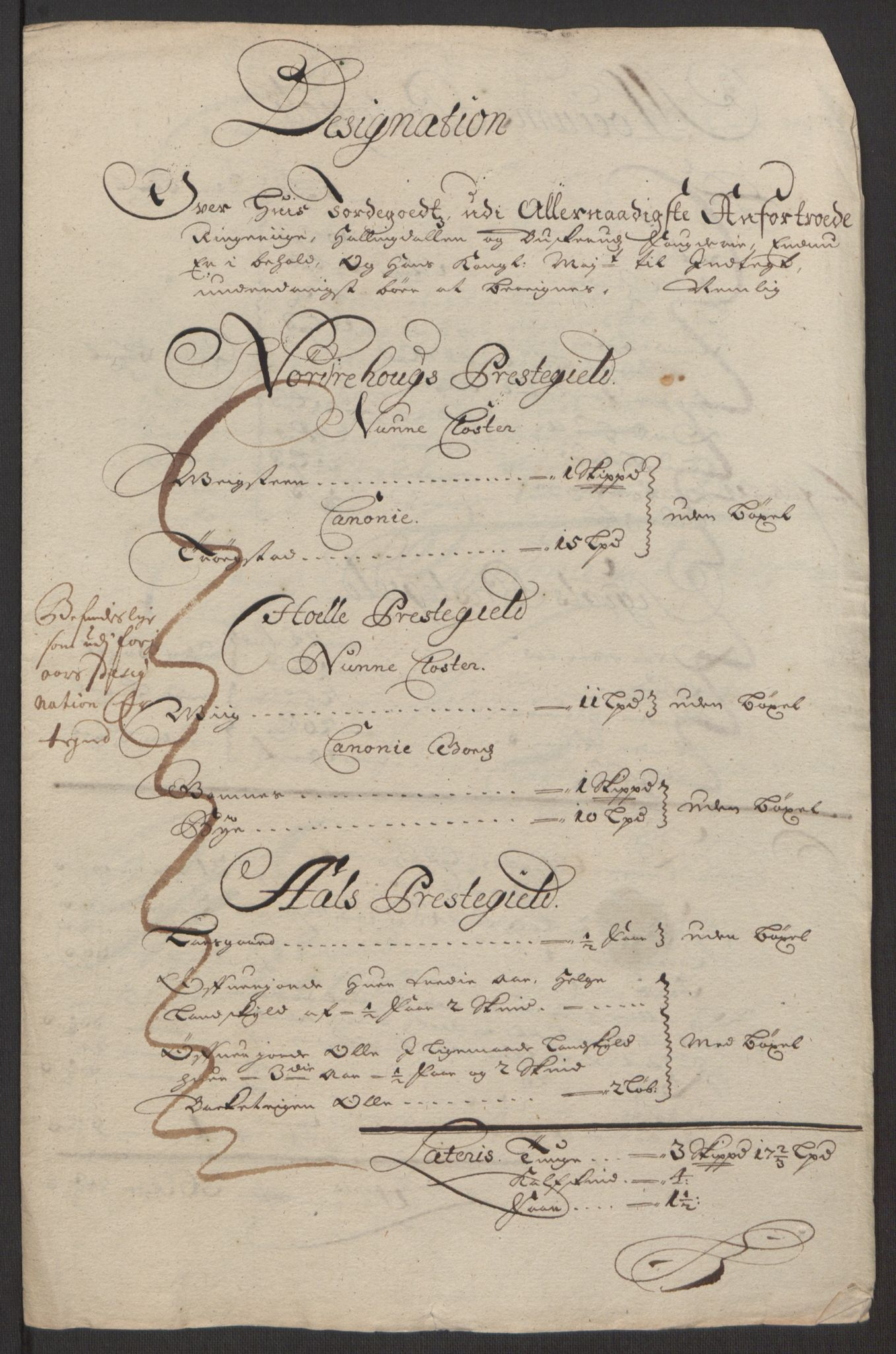 RA, Rentekammeret inntil 1814, Reviderte regnskaper, Fogderegnskap, R22/L1452: Fogderegnskap Ringerike, Hallingdal og Buskerud, 1695, s. 15