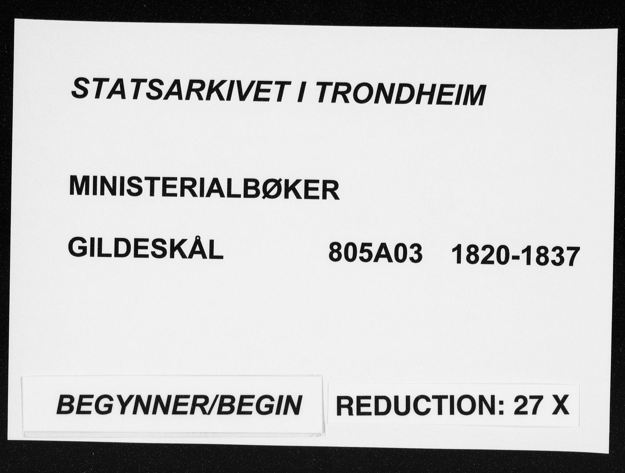 SAT, Ministerialprotokoller, klokkerbøker og fødselsregistre - Nordland, 805/L0096: Ministerialbok nr. 805A03, 1820-1837