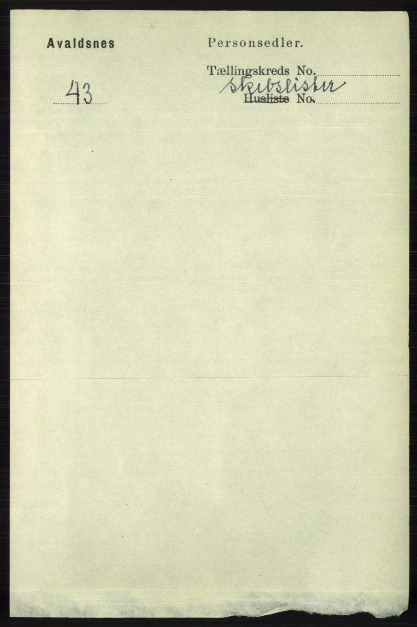 RA, Folketelling 1891 for 1147 Avaldsnes herred, 1891, s. 6646